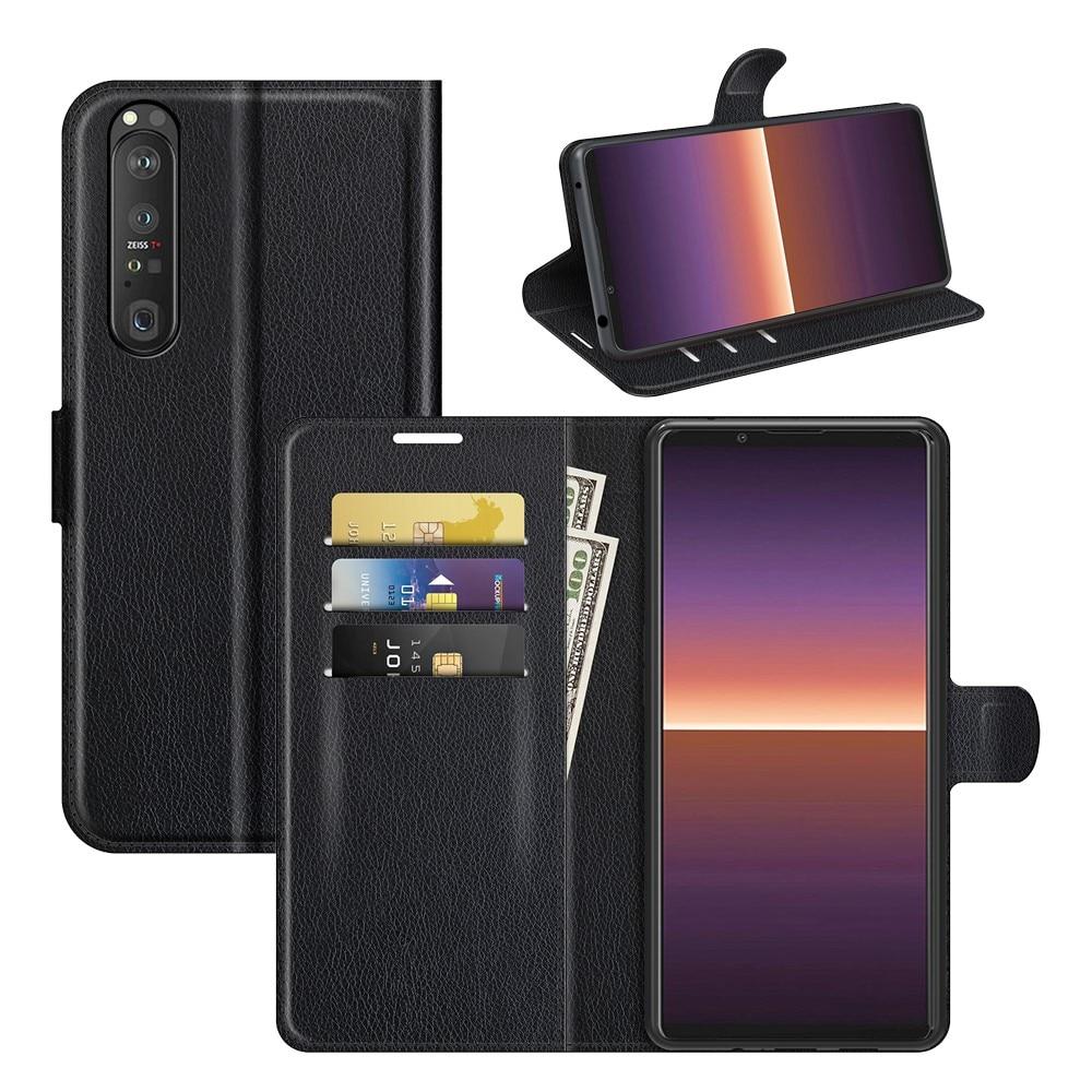 Mobilveske Sony Xperia 1 III svart