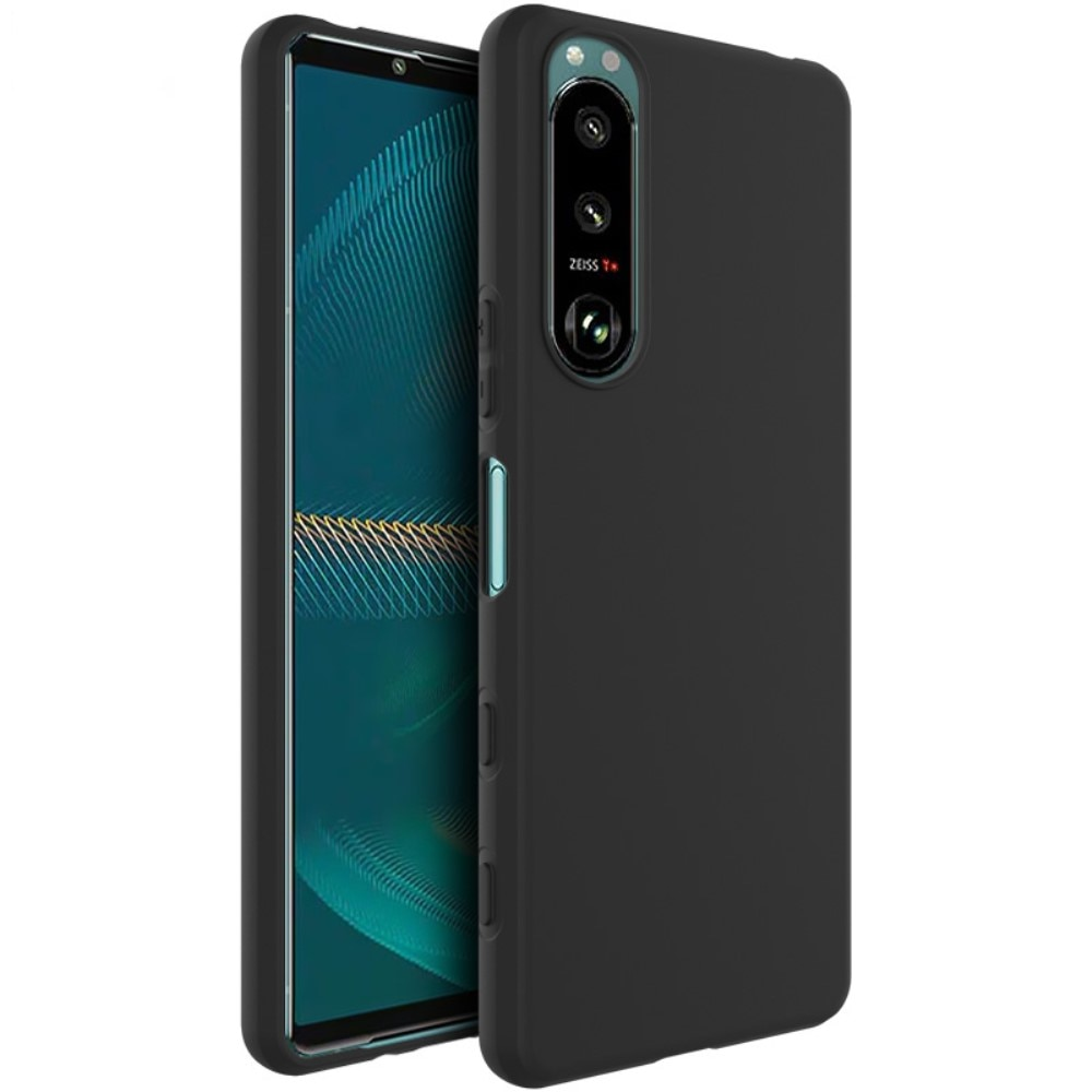 Frosted TPU Case Sony Xperia 5 III Black
