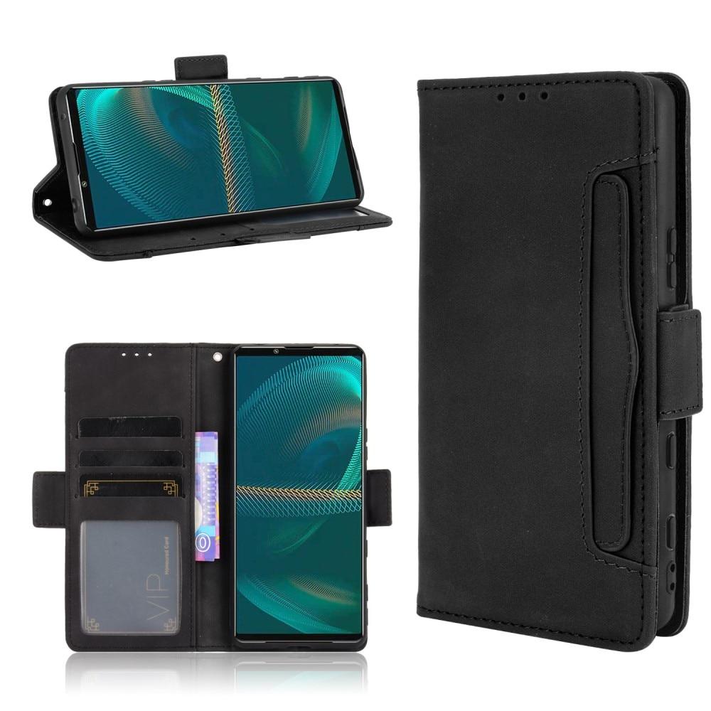 Multi Lommebokdeksel Sony Xperia 5 III svart