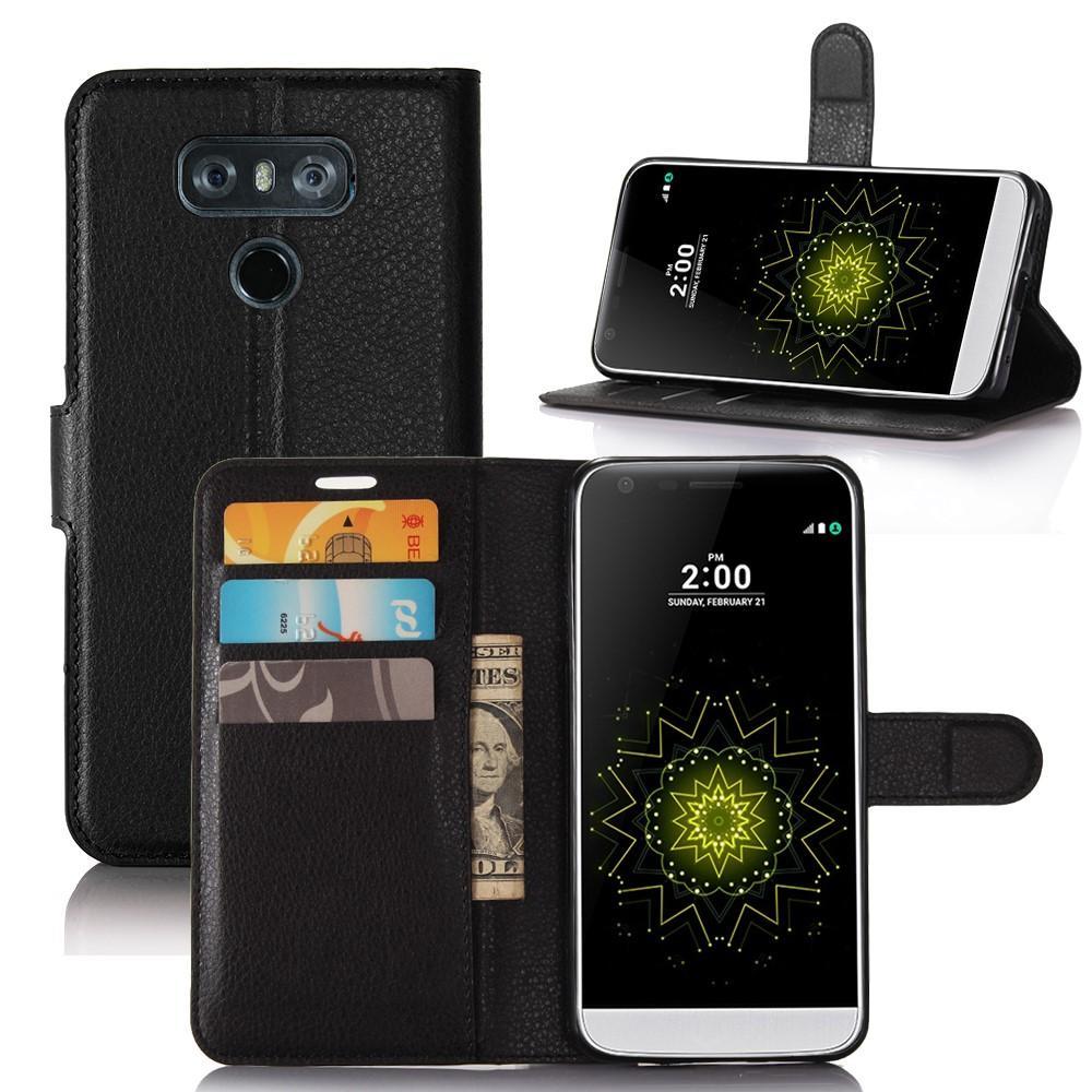 Mobilveske LG G6 svart