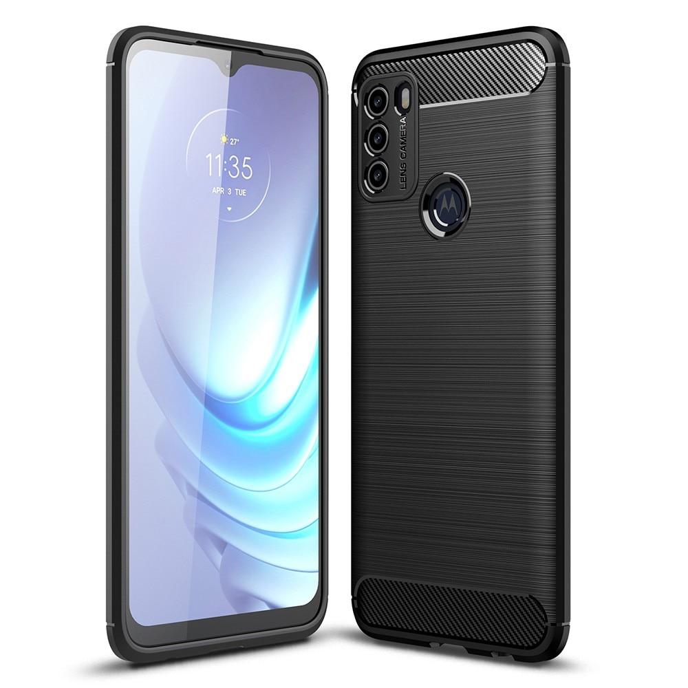 Brushed TPU Deksel Motorola Moto G50 Black