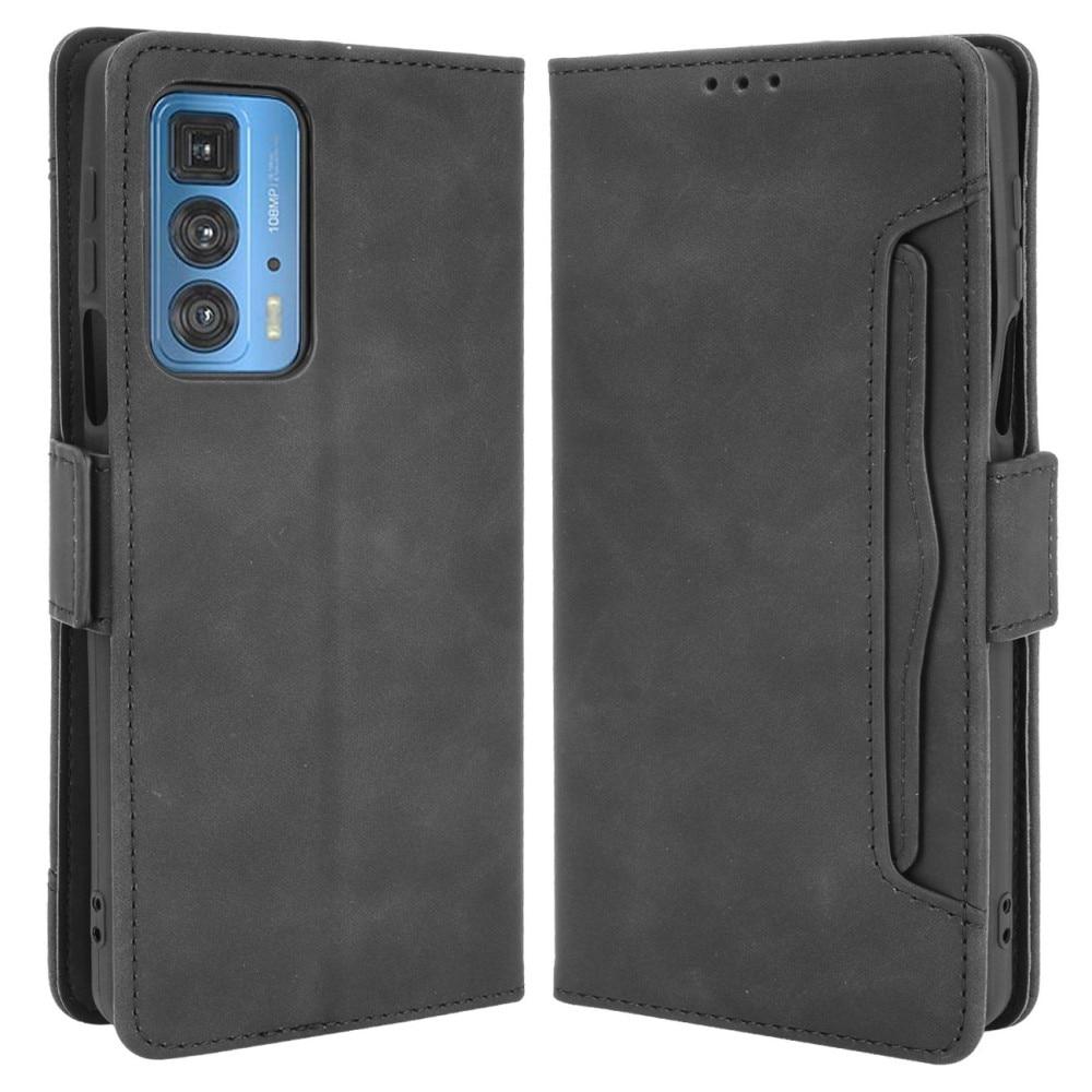 Multi Lommebokdeksel Motorola Edge 20 Pro svart