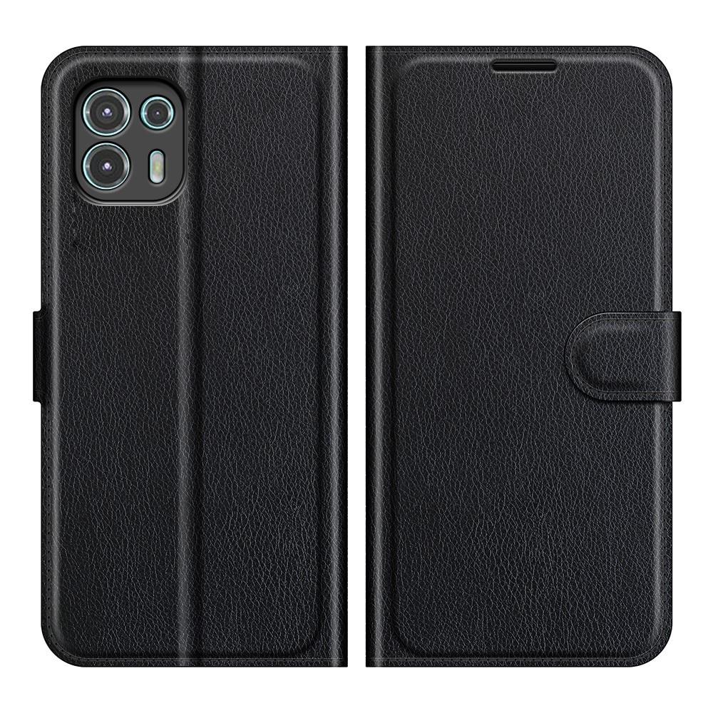 Mobilveske Motorola Edge 20 Lite svart