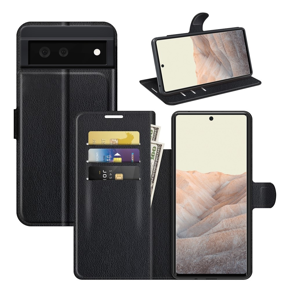 Mobilveske Google Pixel 6 svart