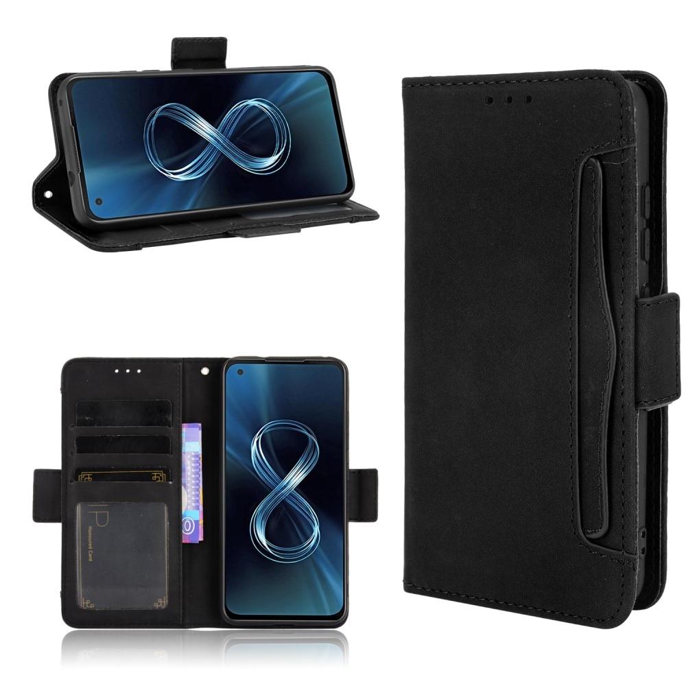 Multi Lommebokdeksel Asus Zenfone 8 svart