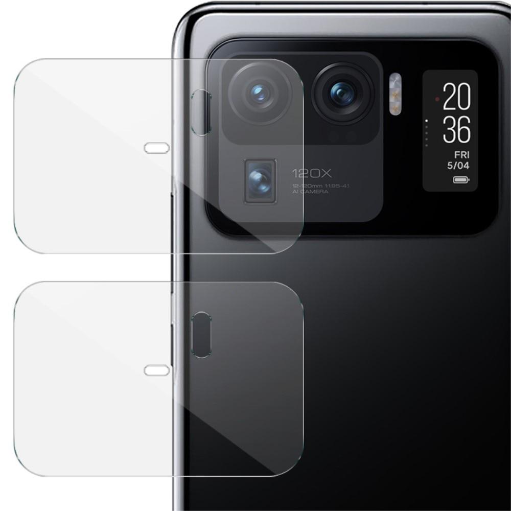 2-pack Herdet Glass Linsebeskyttelse Xiaomi Mi 11 Ultra