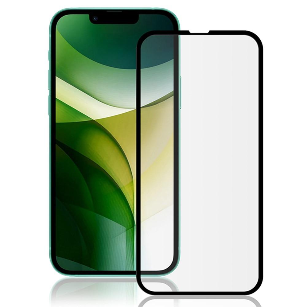 Mocolo Heldekkende Herdet Glass iPhone 13 Mini svart