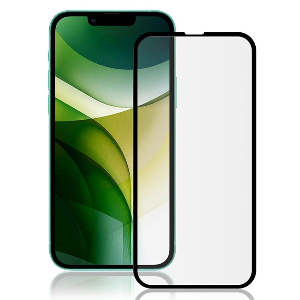 Heldekkende Herdet Glass iPhone 13/13 Pro svart