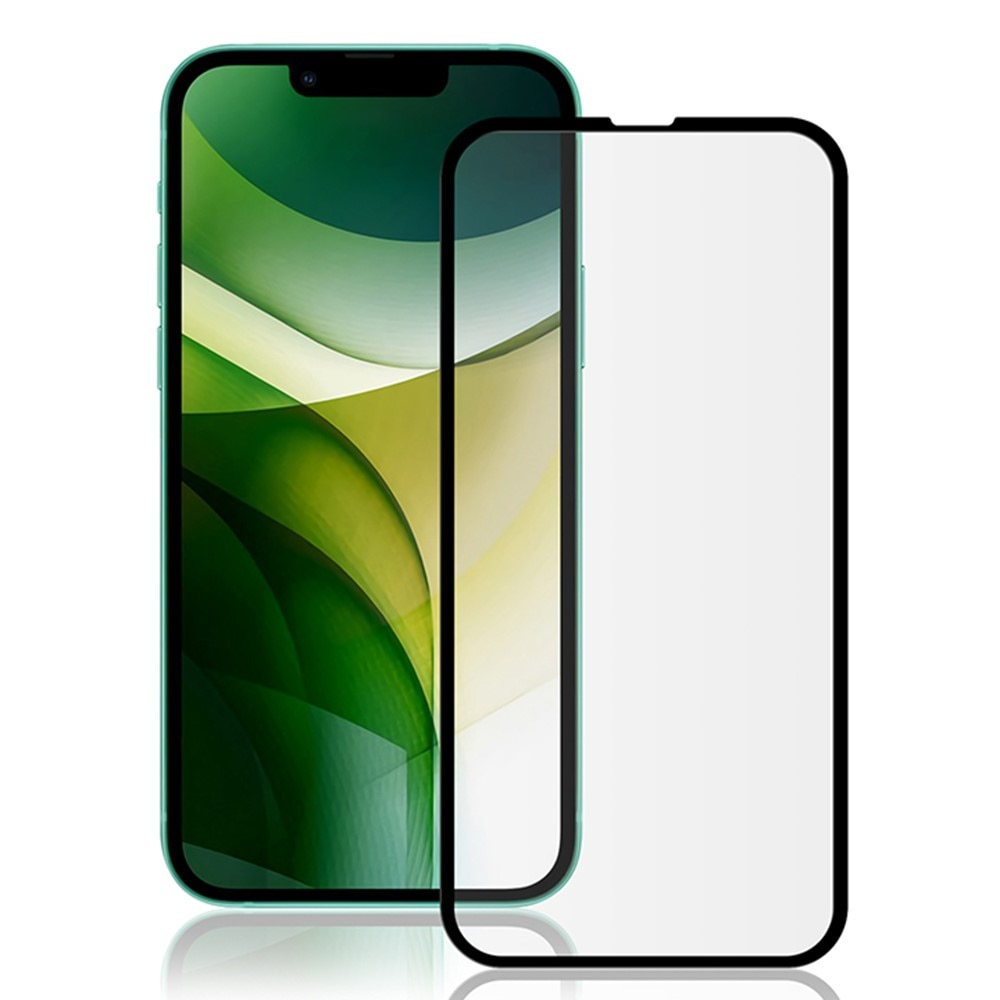 Heldekkende Herdet Glass iPhone 13 Pro Max svart