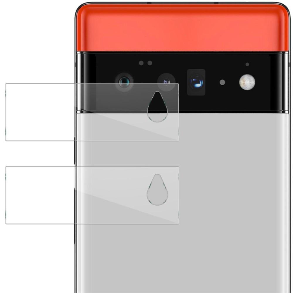 2-pack Herdet Glass Linsebeskyttelse Google Pixel 6 Pro