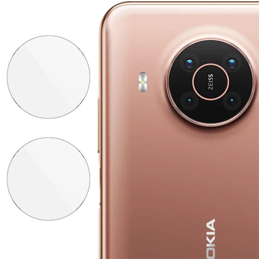2-pack Herdet Glass Linsebeskyttelse Nokia X10/X20