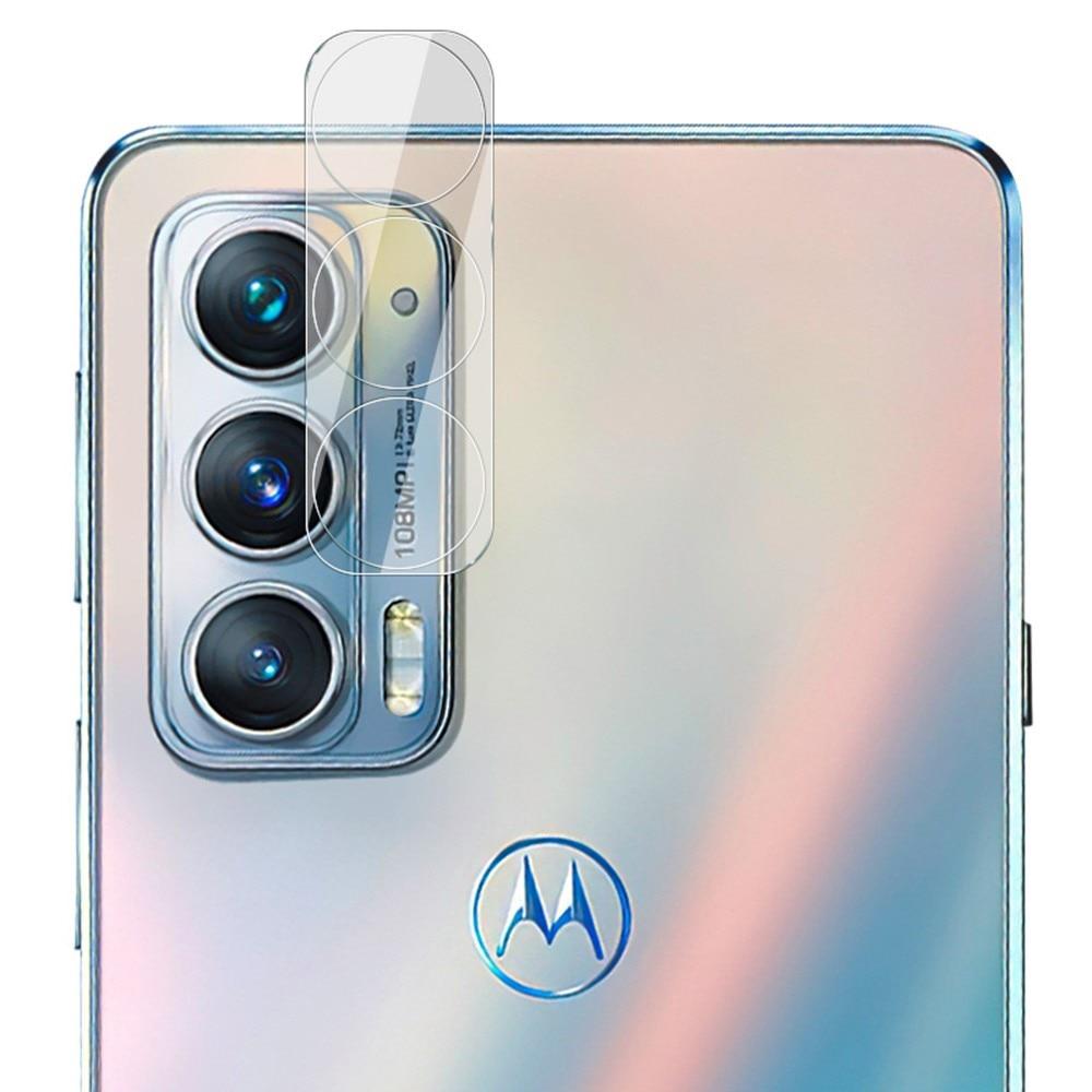 Herdet Glass Linsebeskyttelse Motorola Edge 20