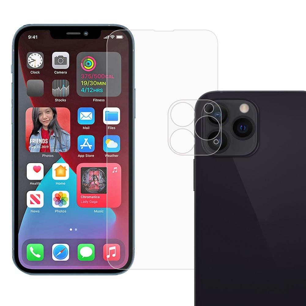 Herdet glass Skjerm- og Linsebeskyttelse iPhone 13 Pro Max
