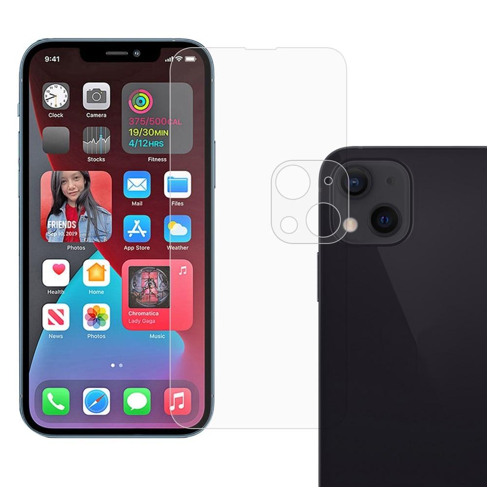 Herdet glass Skjerm- og Linsebeskyttelse iPhone 13