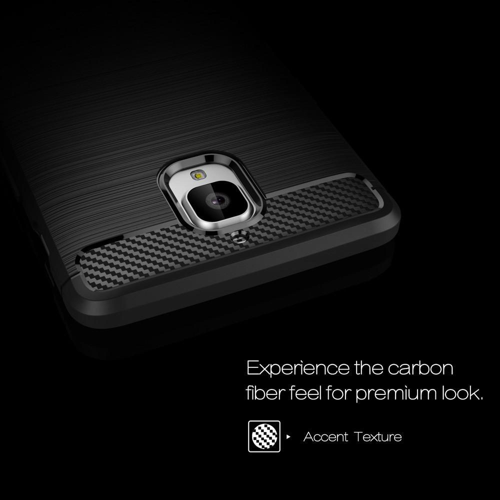 Brushed TPU Deksel OnePlus 3/3T black
