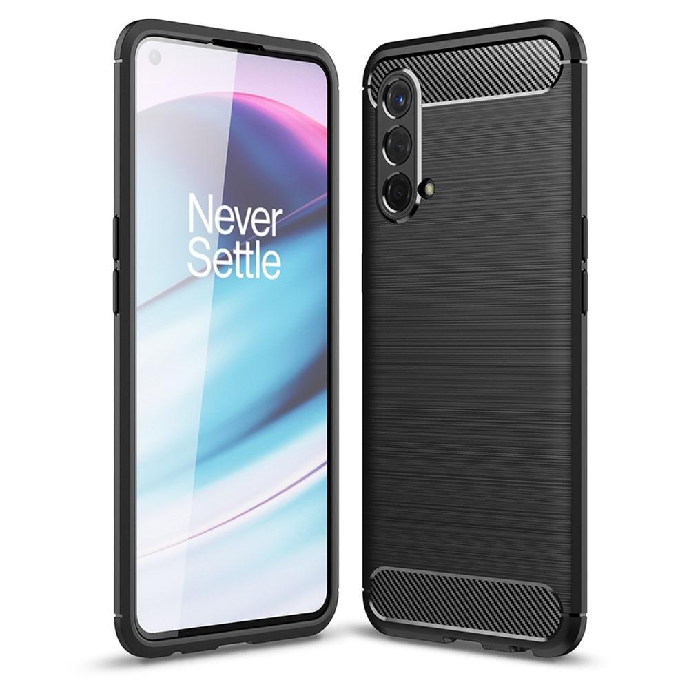 Brushed TPU Deksel OnePlus Nord CE 5G Black