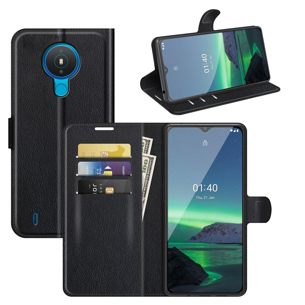 Mobilveske Nokia 1.4 svart