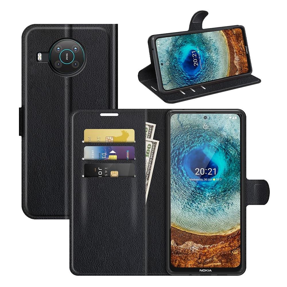 Mobilveske Nokia X10/X20 svart