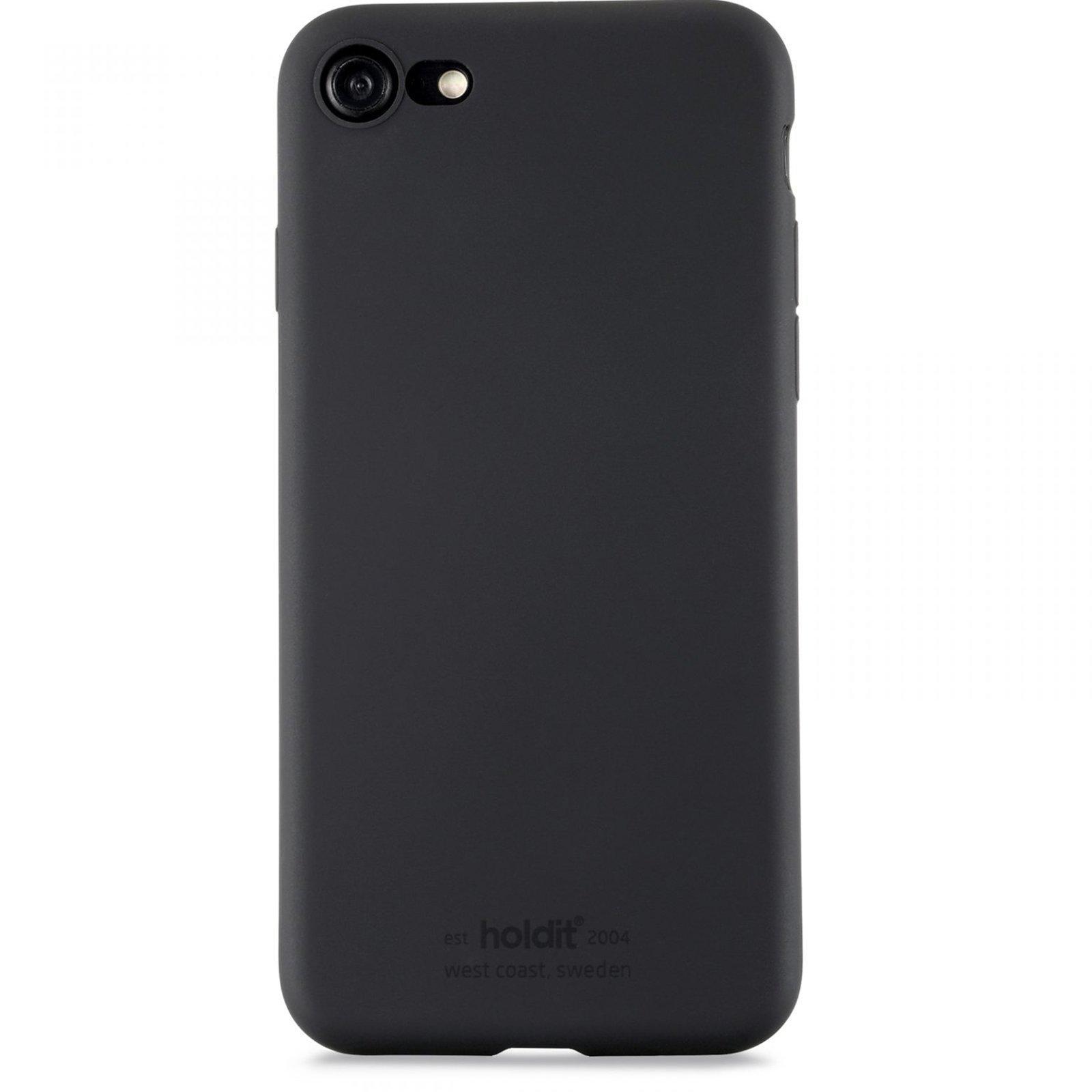 Deksel Silikon iPhone 7/8/SE 2020 Svart