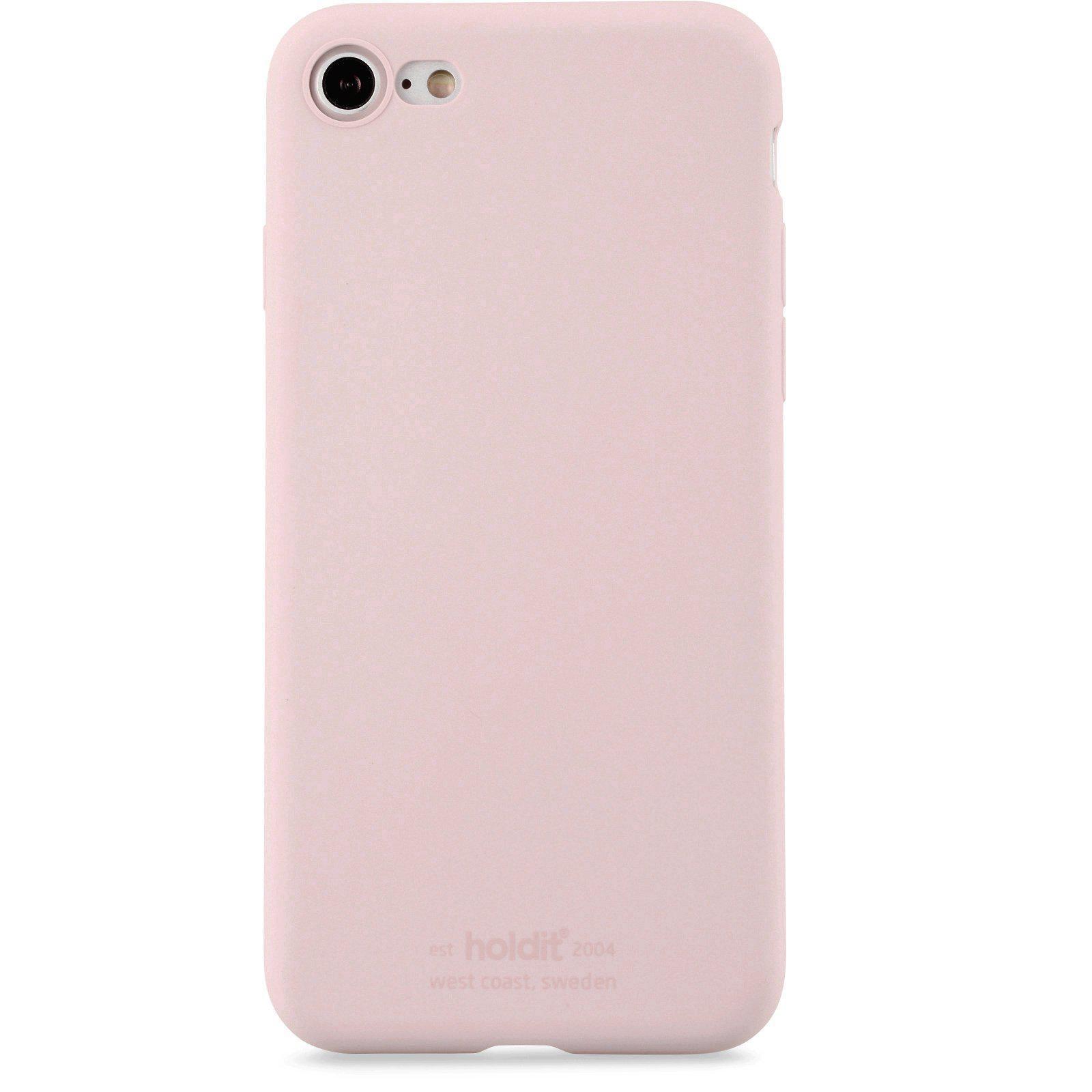 Deksel Silikon iPhone 7/8/SE 2020 Blush Pink
