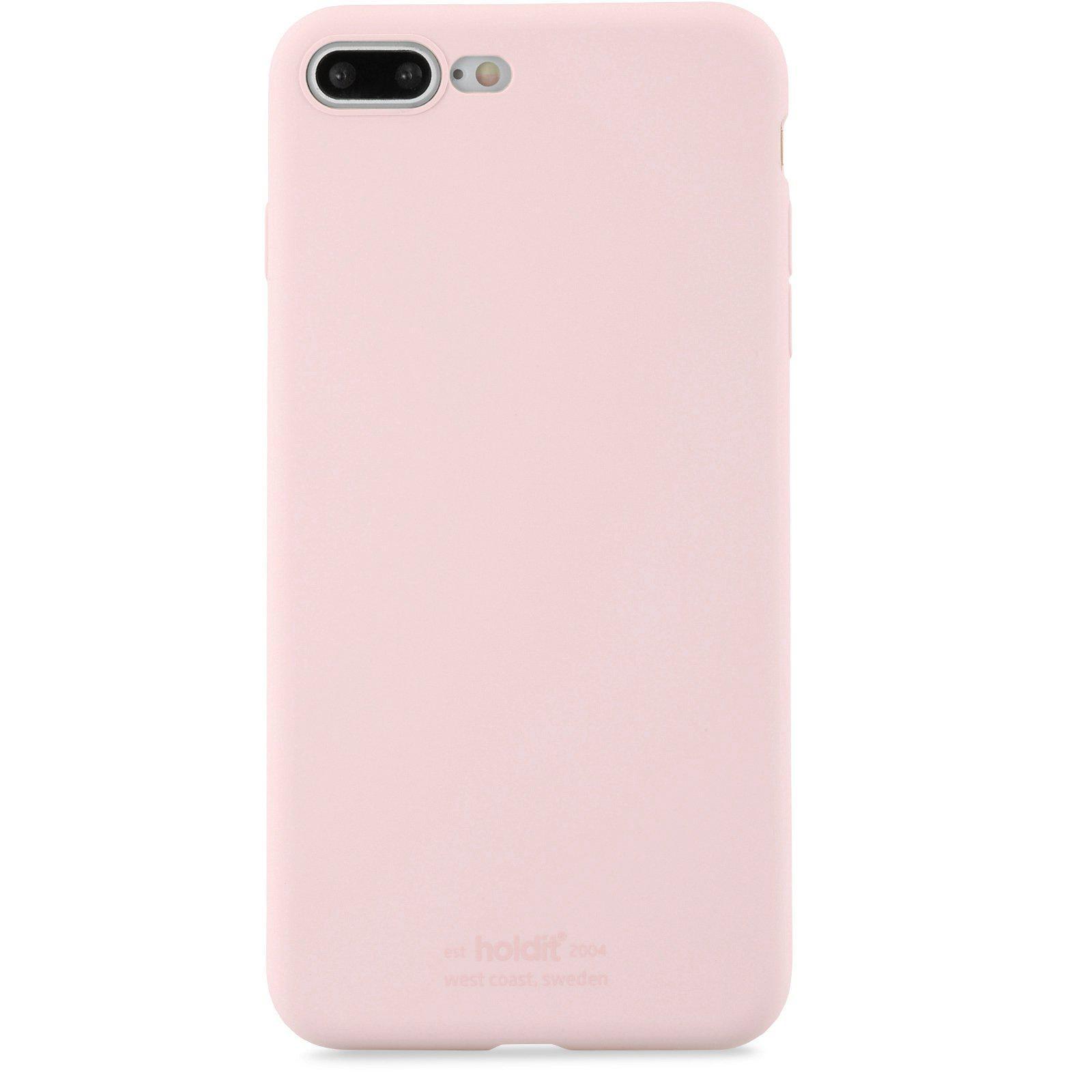 Deksel Silikon iPhone 7 Plus/8 Plus Blush Pink
