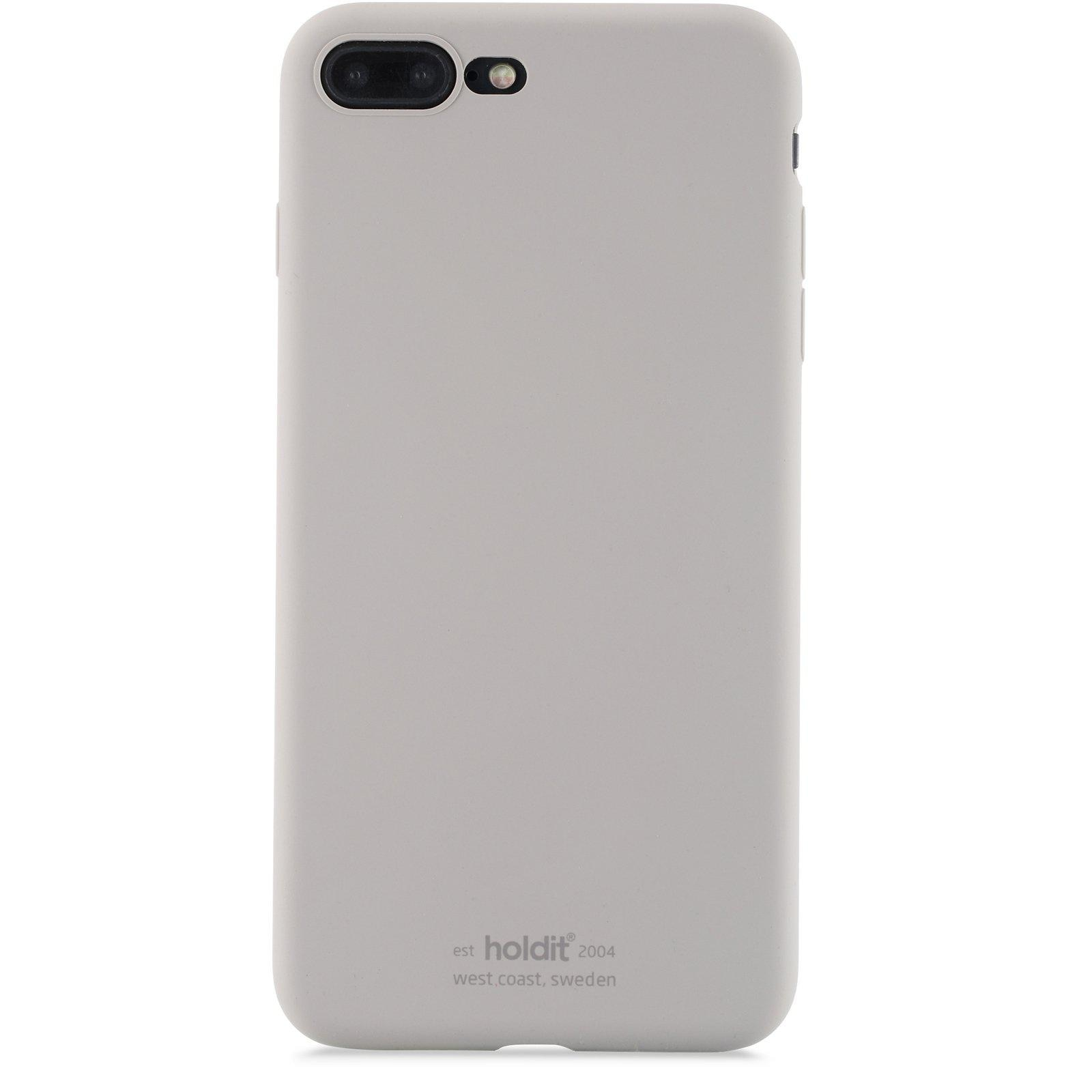 Deksel Silikon iPhone 7 Plus/8 Plus Taupe
