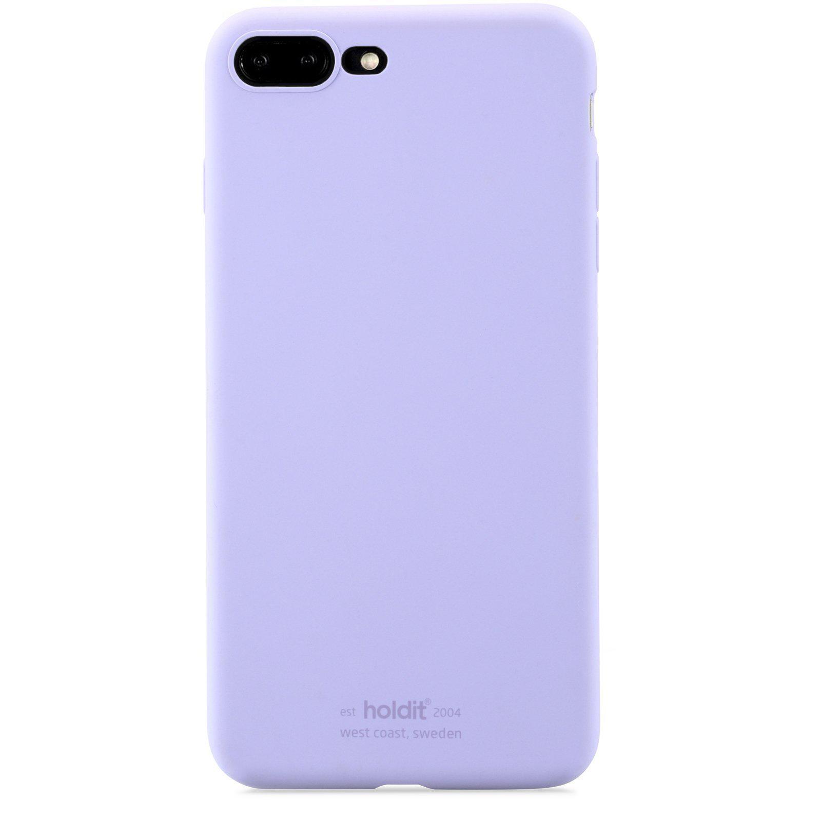 Deksel Silikon iPhone 7 Plus/8 Plus Lavender