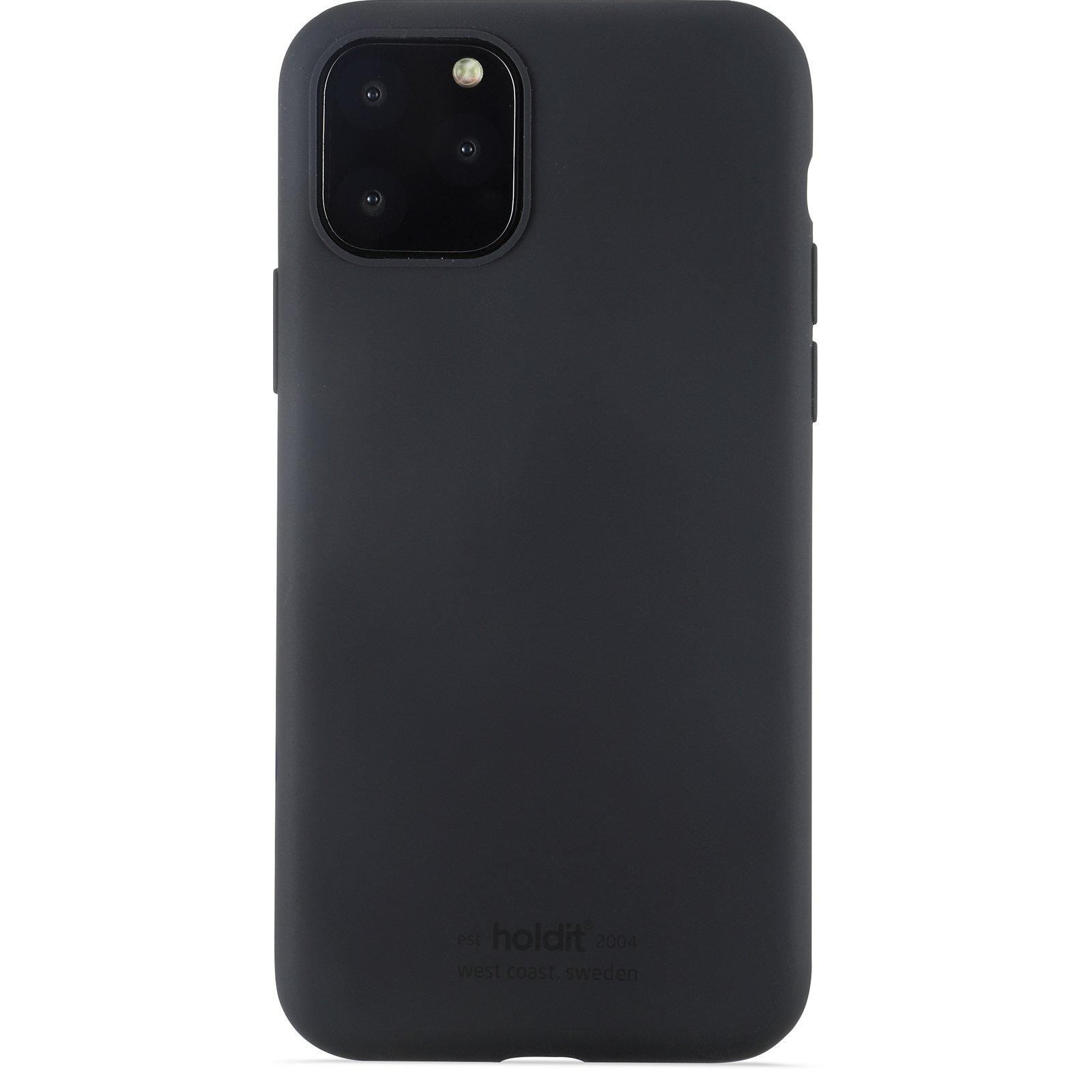Deksel Silikon iPhone 11 Pro/XS/X Svart
