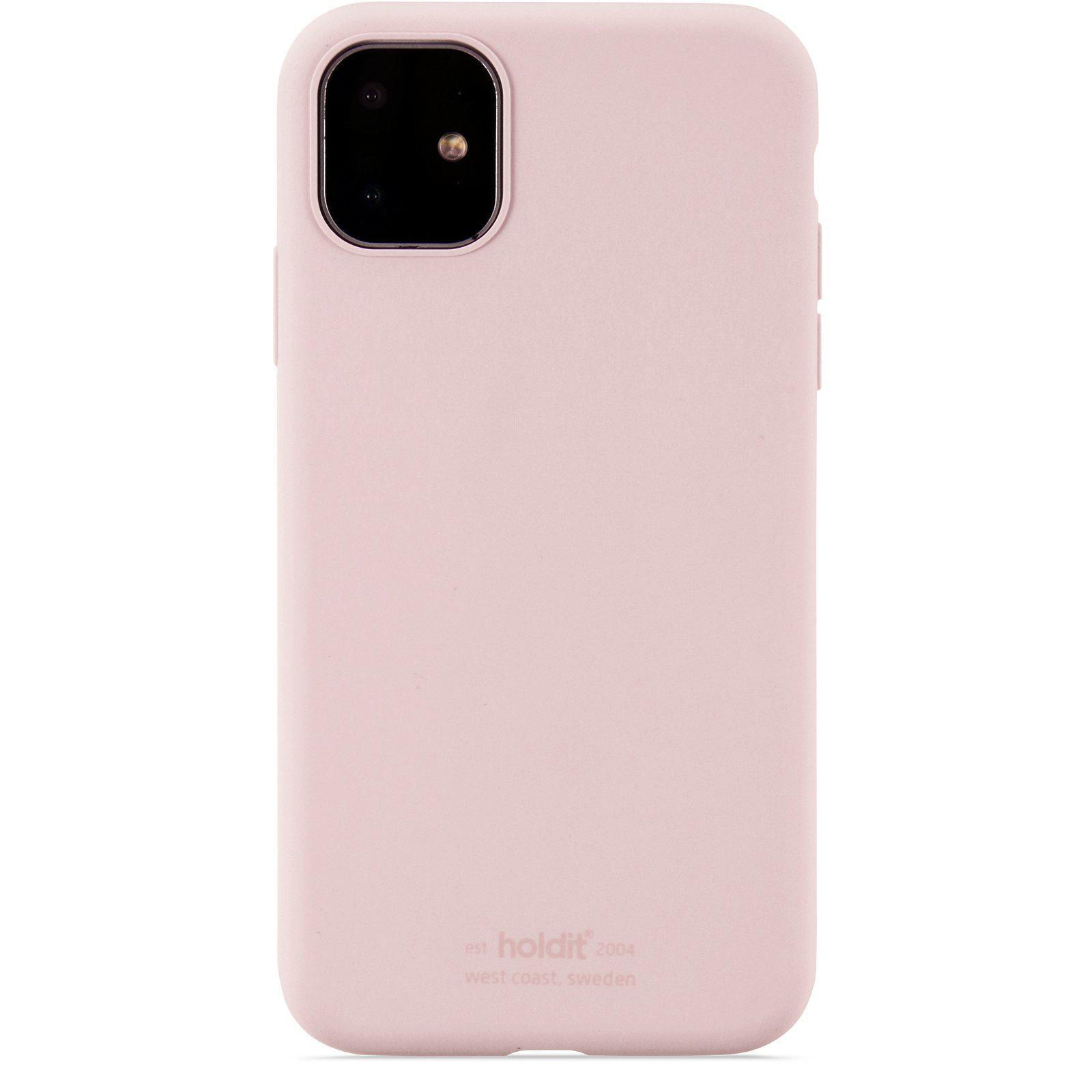 Deksel Silikon iPhone 11/XR Blush Pink