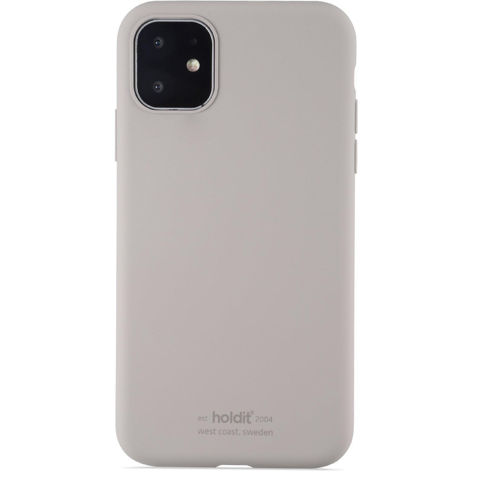 Deksel Silikon iPhone 11/XR Taupe