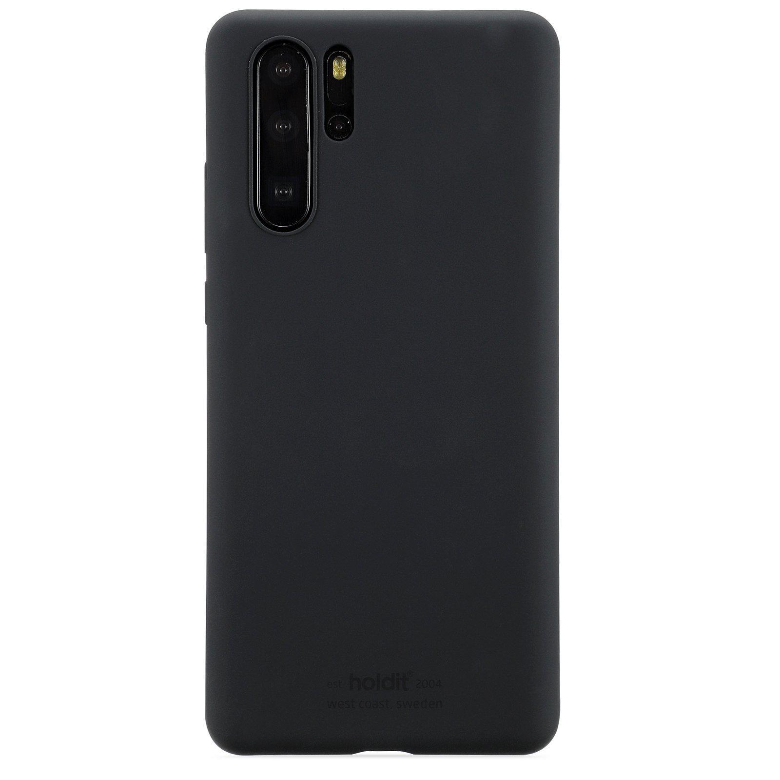 Deksel Silikon Huawei P30 Pro Svart