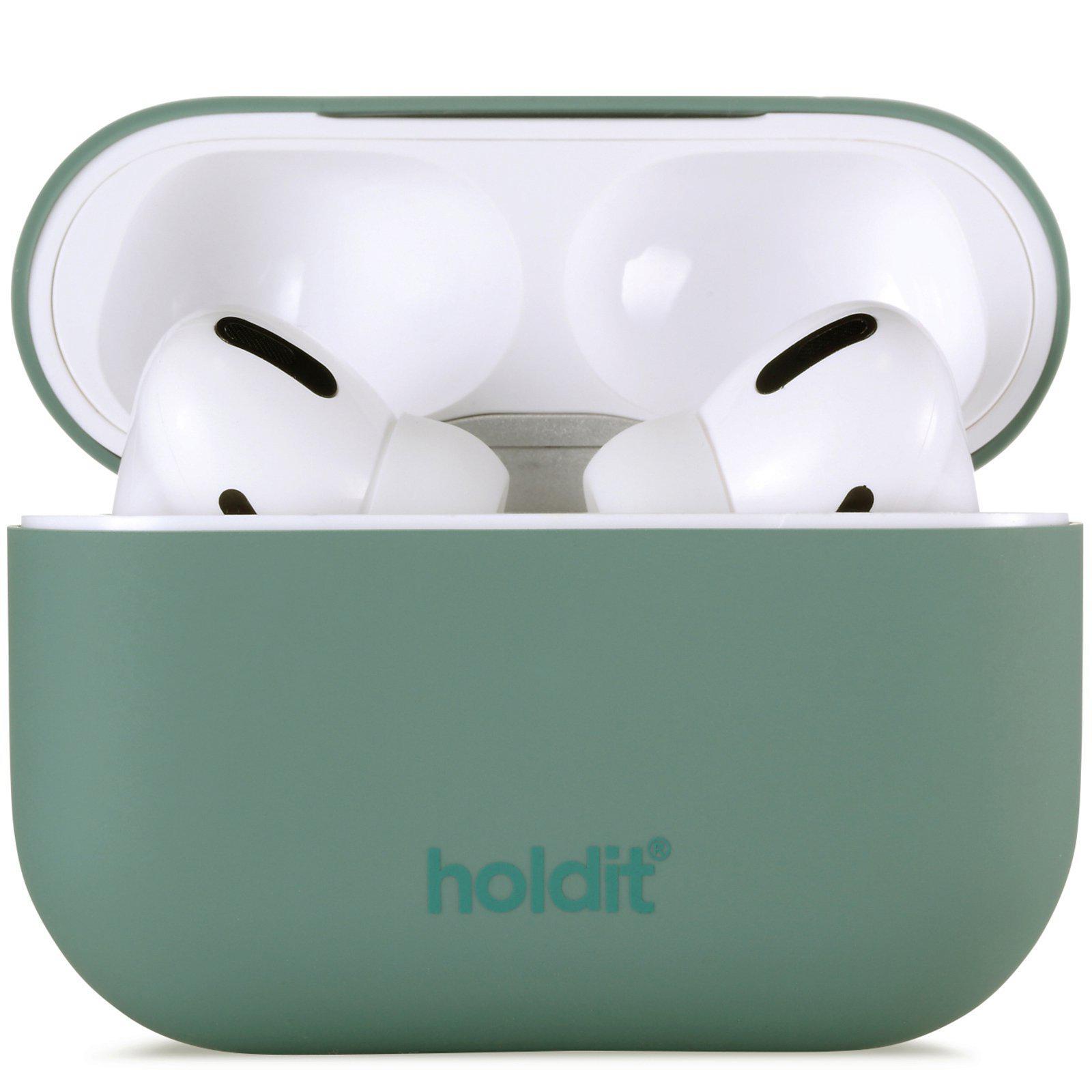 Deksel Silikon Apple AirPods Pro Moss Green
