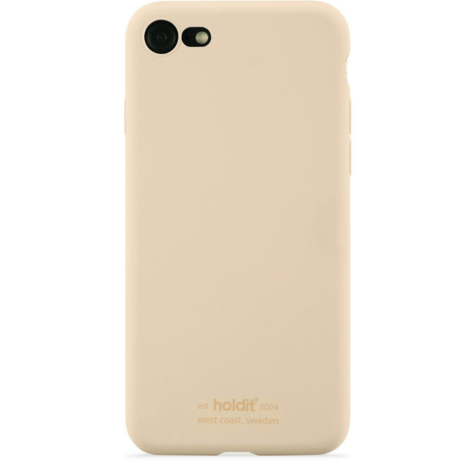 Deksel Silikon iPhone 7/8/SE 2020 Beige