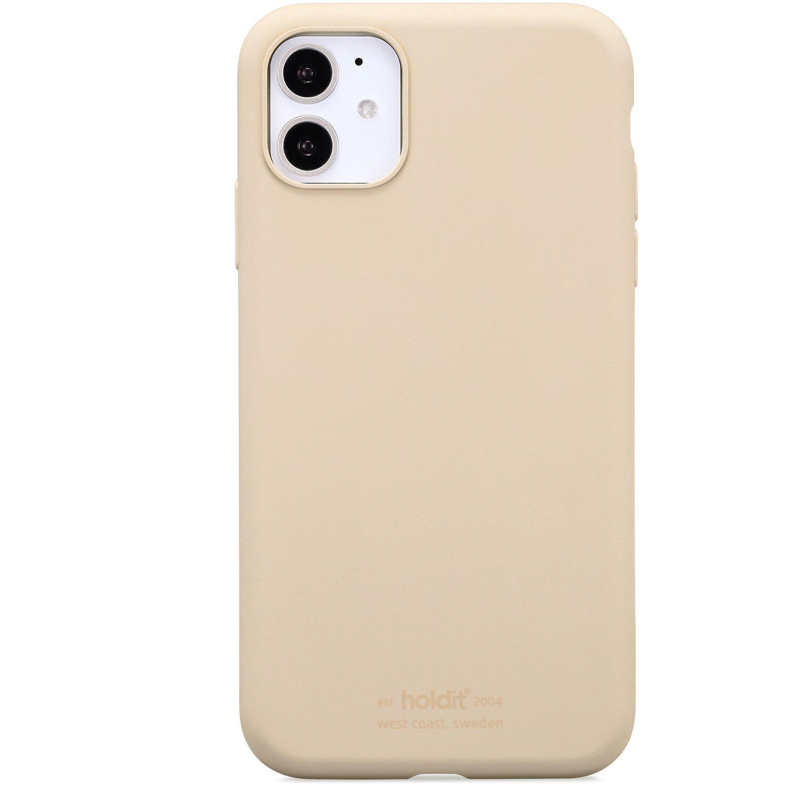 Deksel Silikon iPhone 11/XR Beige