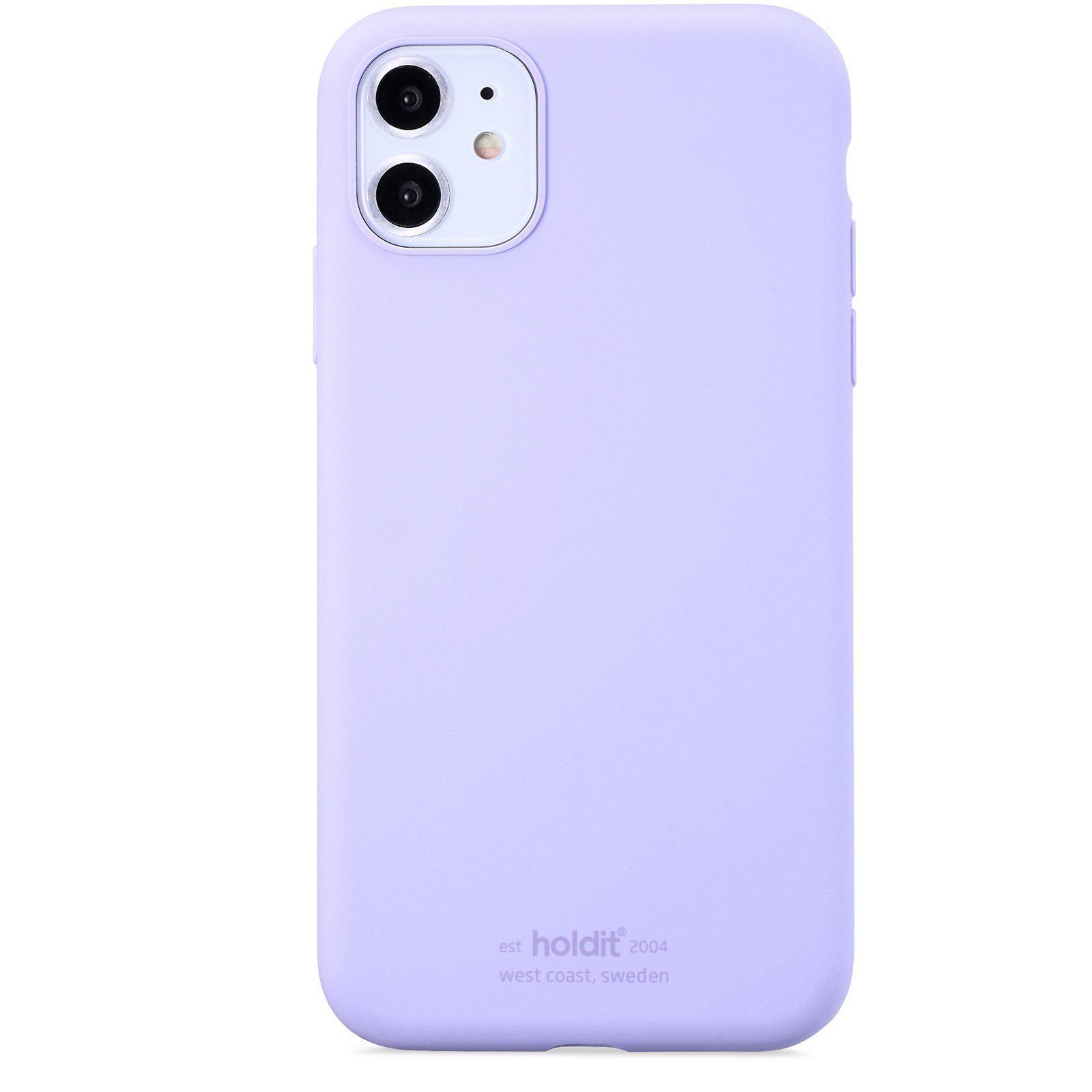 Deksel Silikon iPhone 11/XR Lavender