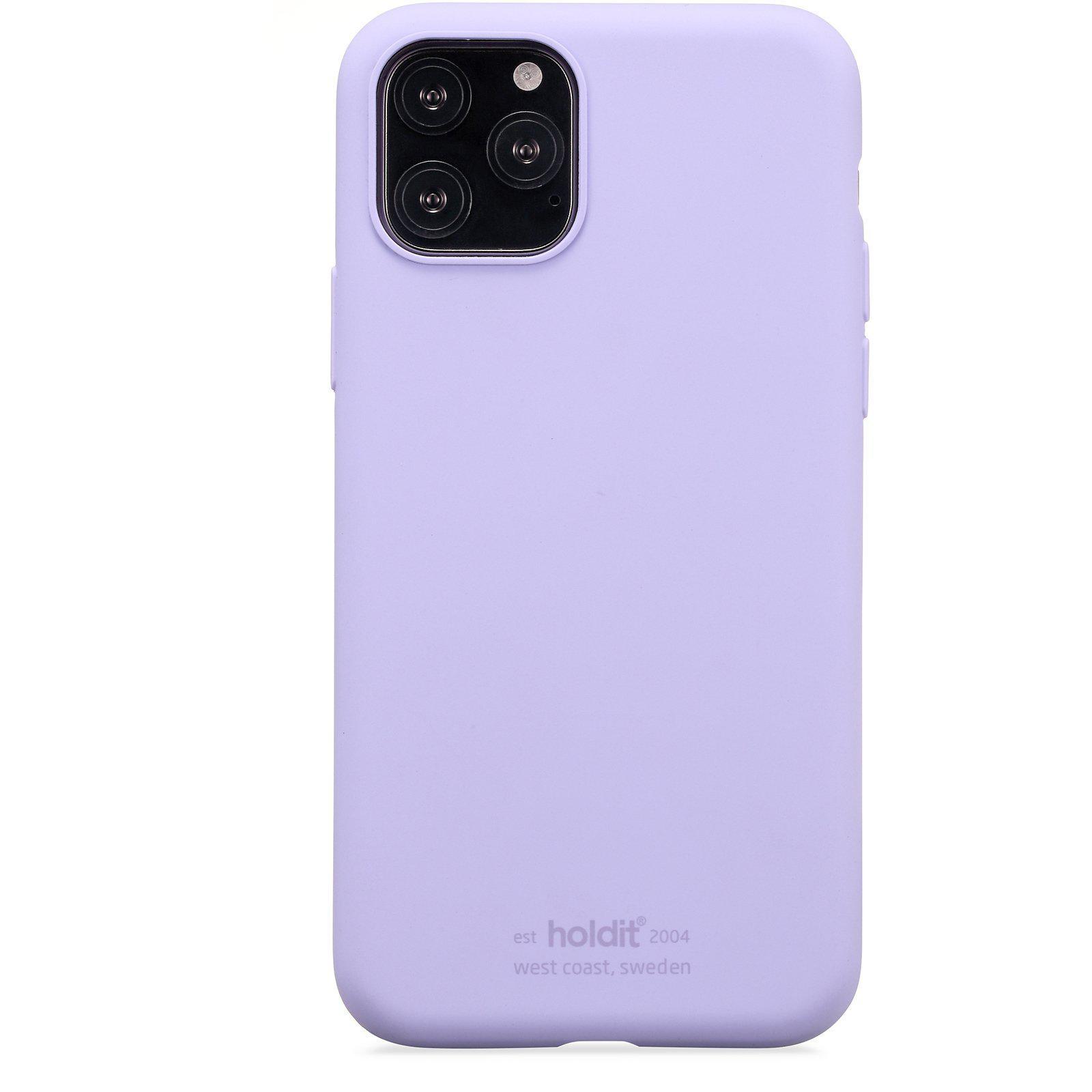 Deksel Silikon iPhone 11 Pro/XS/X Lavender