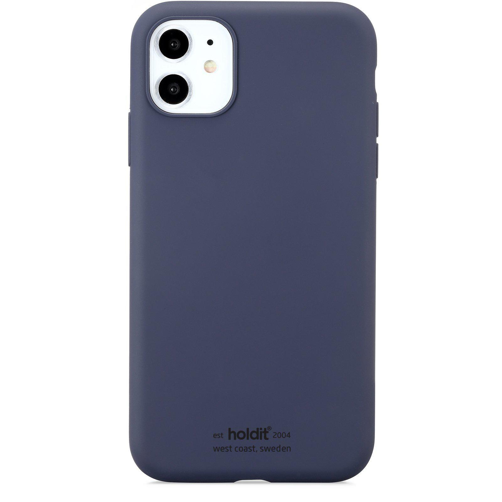 Deksel Silikon iPhone 11/XR Navy