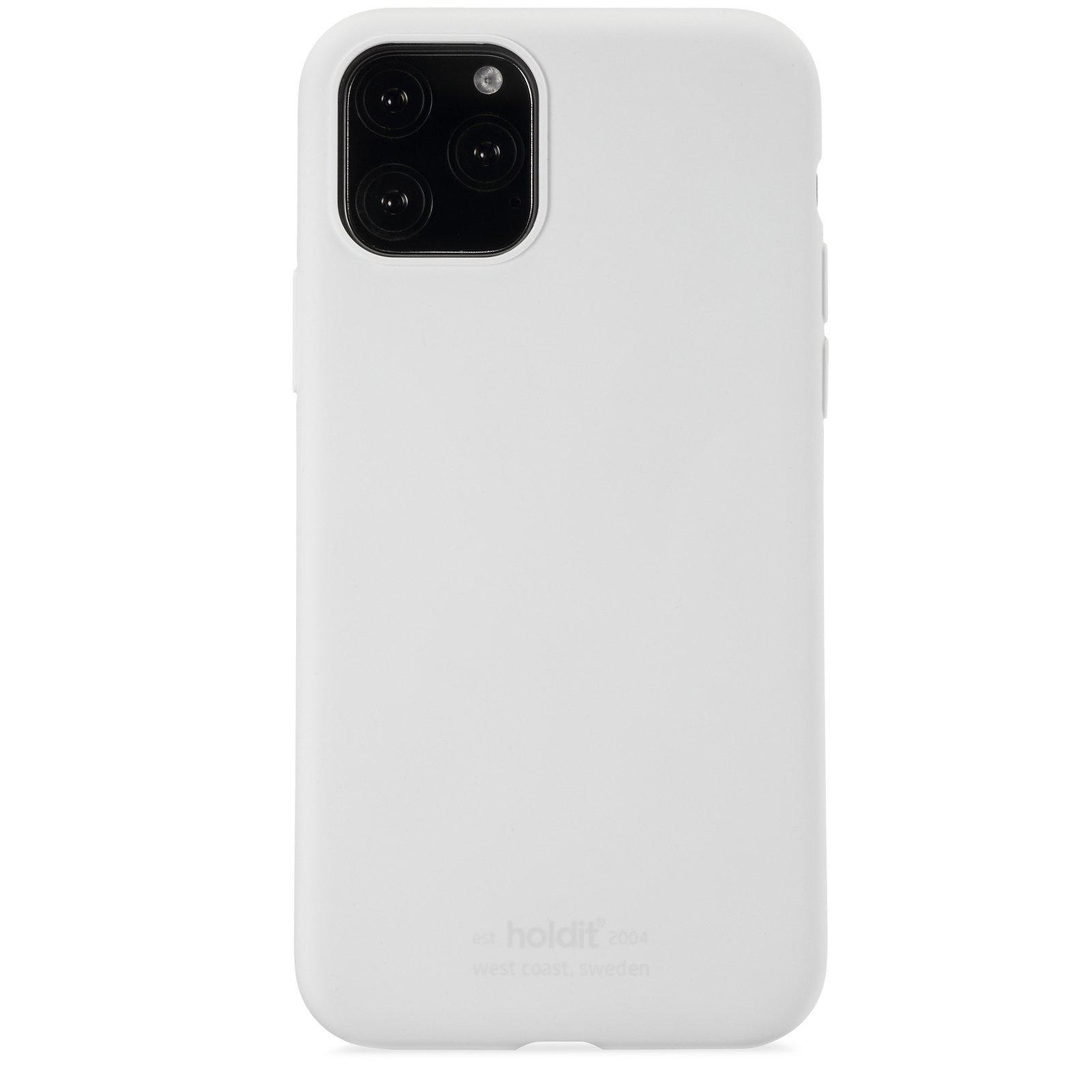 Deksel Silikon iPhone 11 Pro/XS/X White