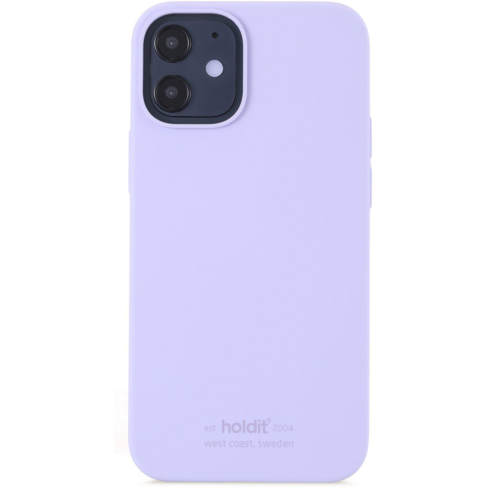 Deksel Silikon iPhone 12 Mini Lavender