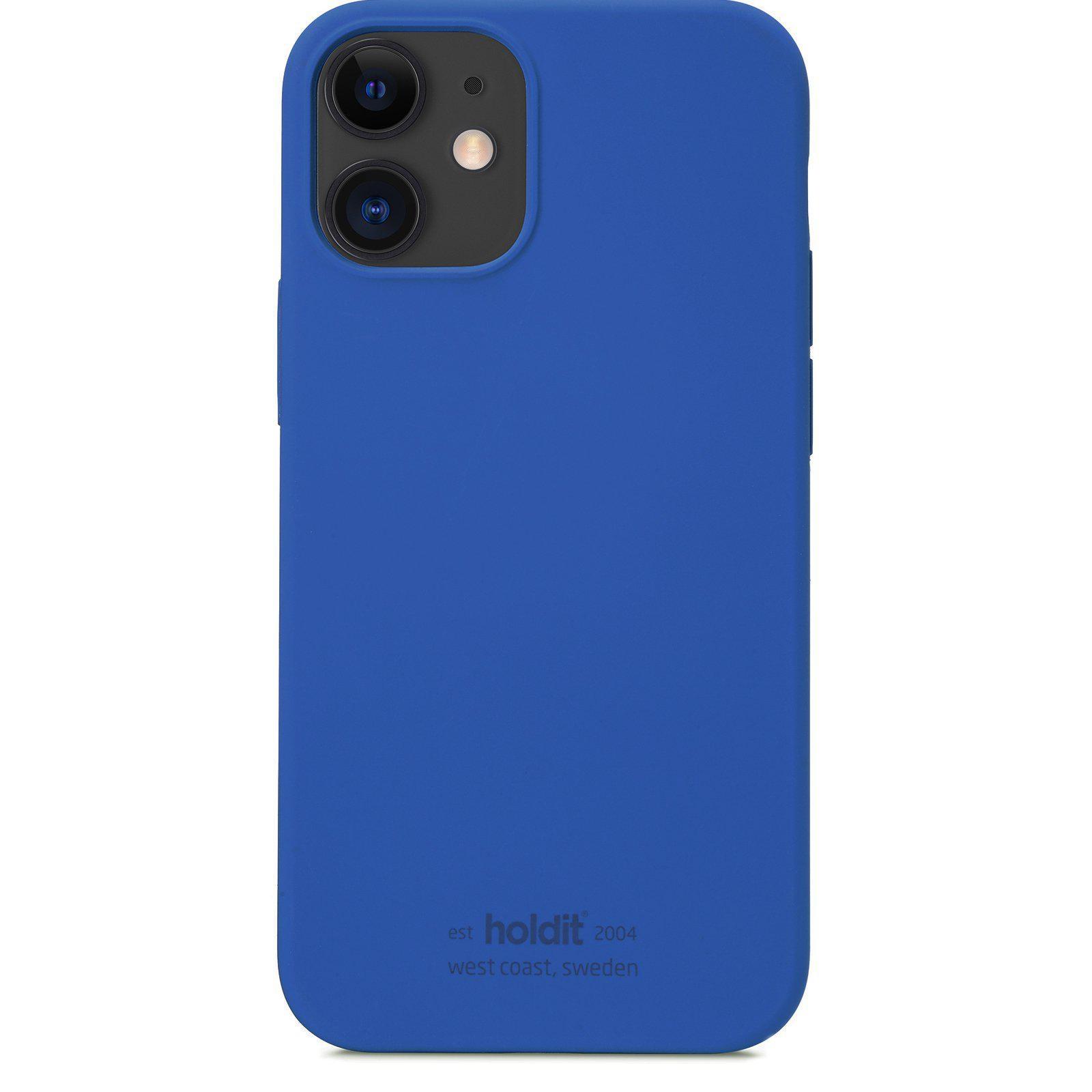 Deksel Silikon iPhone 12 Mini Royal Blue