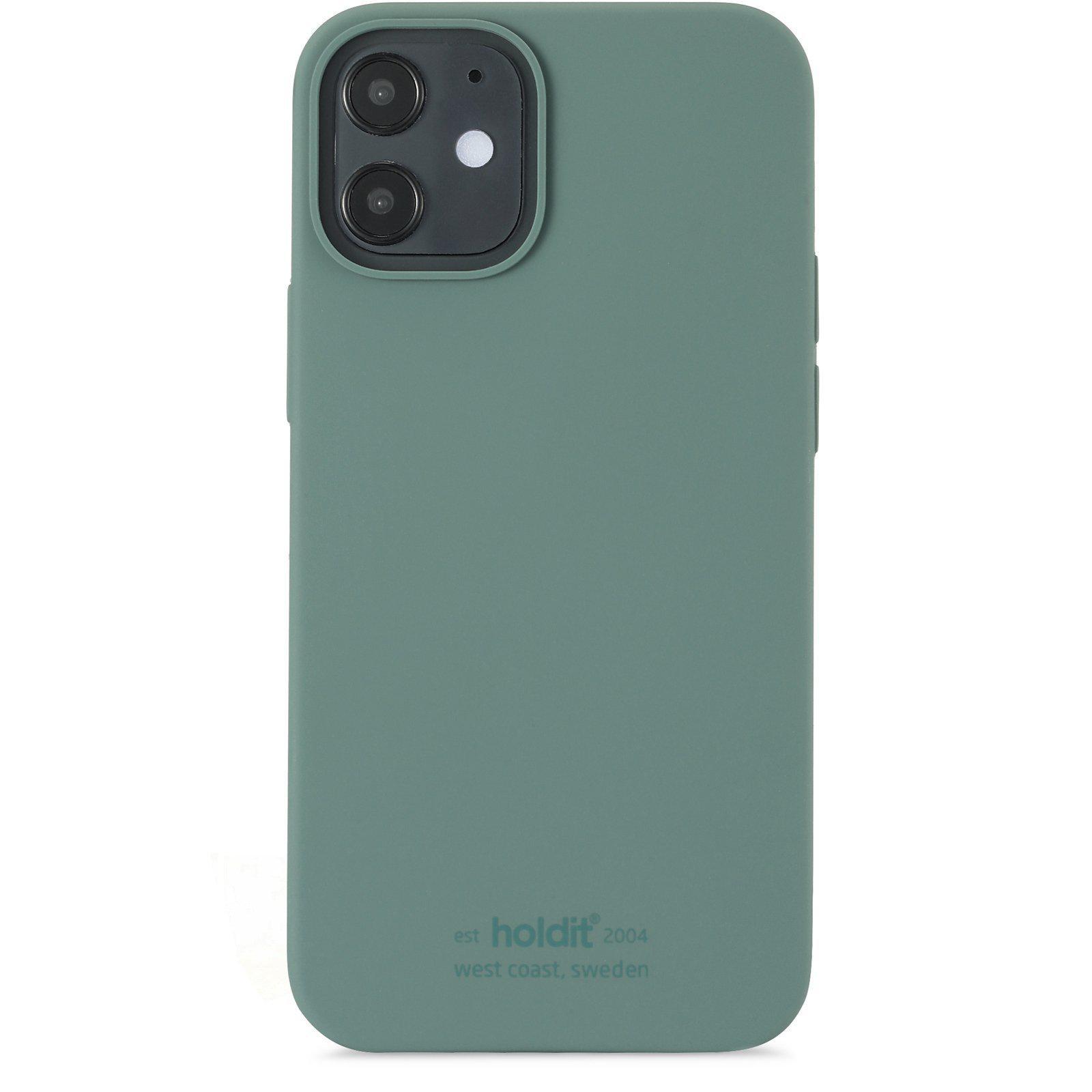 Deksel Silikon iPhone 13 Mini Moss Green