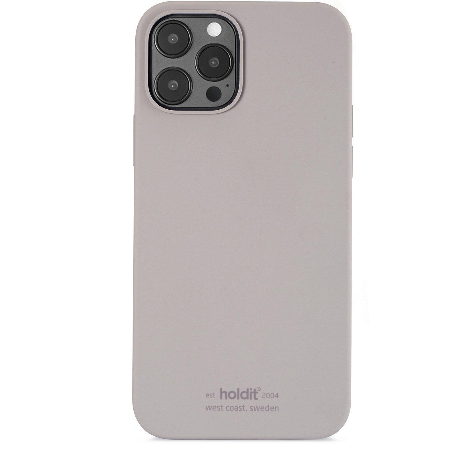Deksel Silikon iPhone 12/12 Pro Taupe