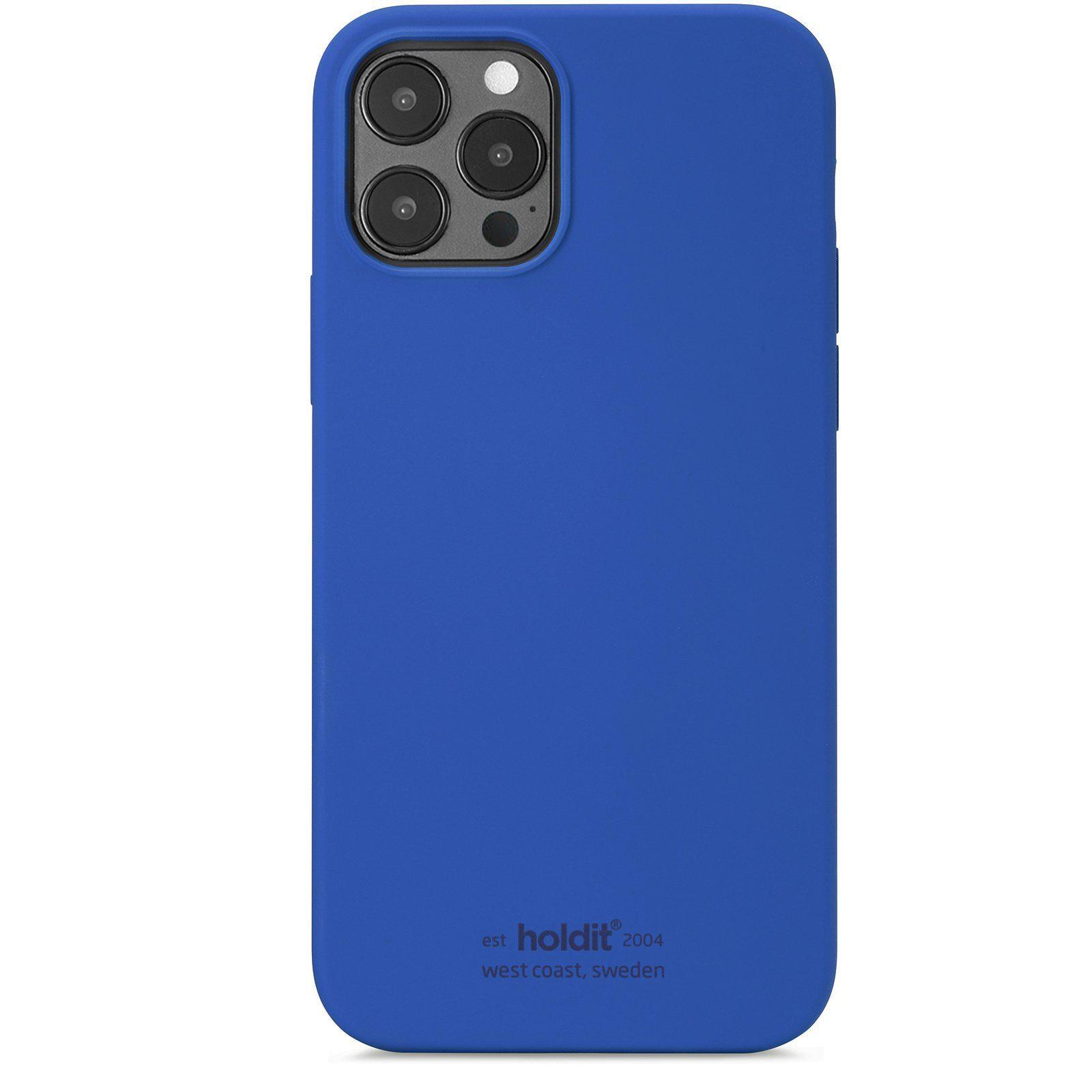 Deksel Silikon iPhone 12/12 Pro Royal Blue