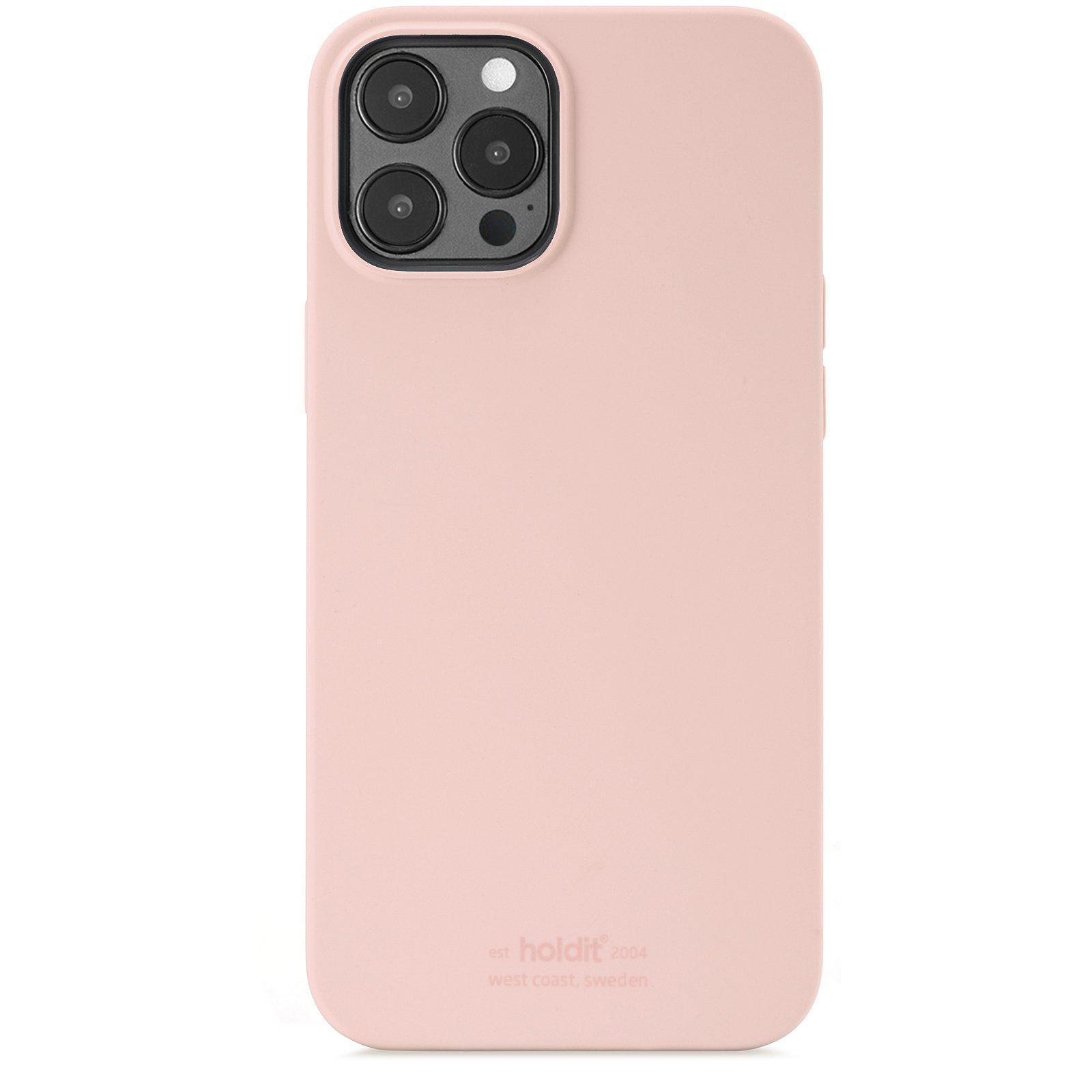Deksel Silikon iPhone 12 Pro Max Blush Pink