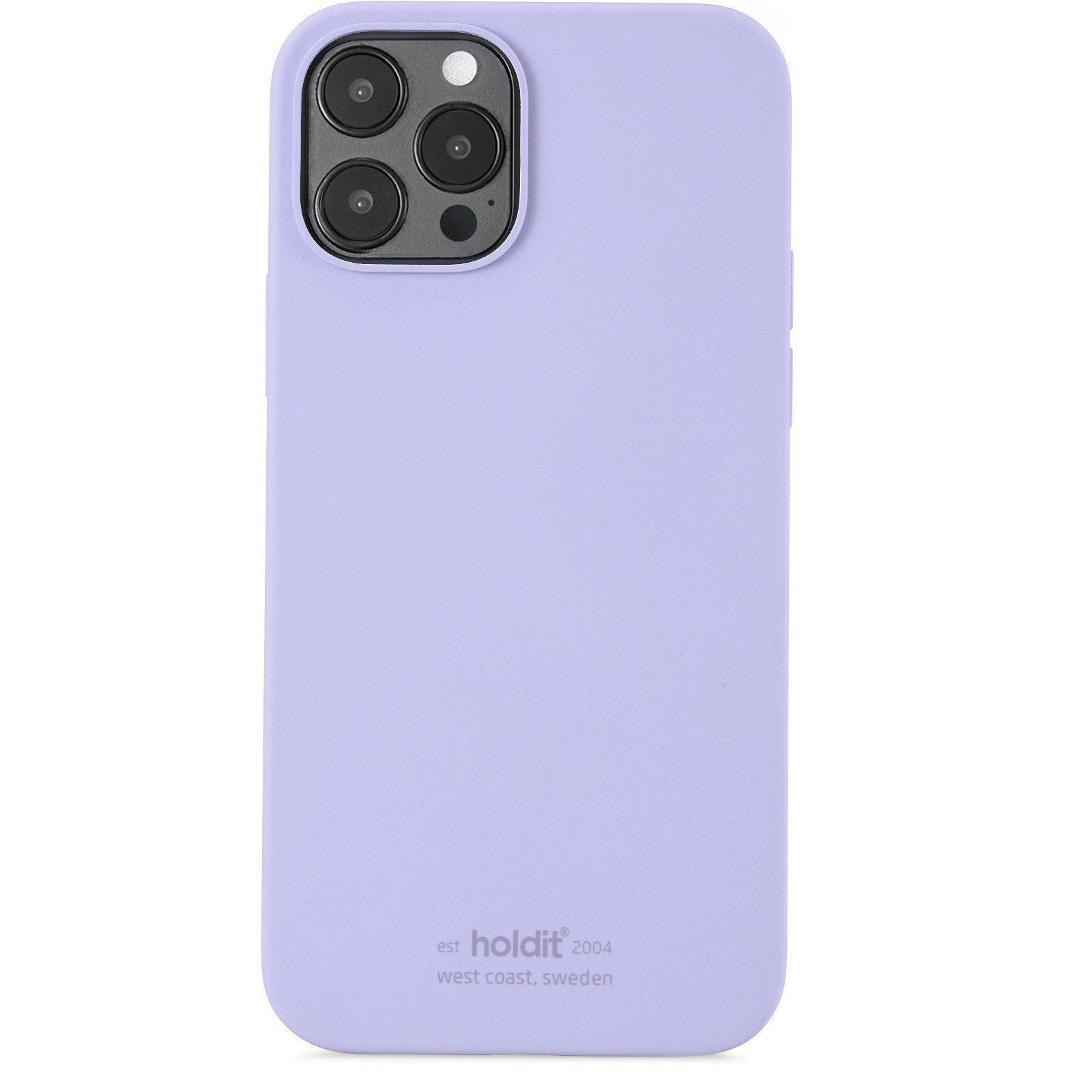 Deksel Silikon iPhone 12/12 Pro Lavender