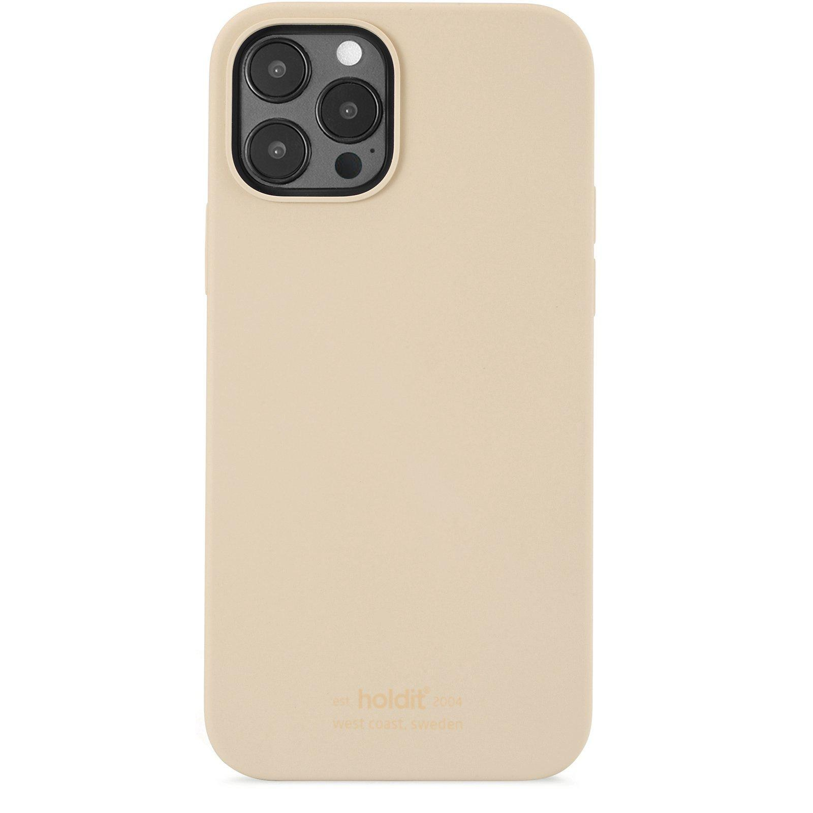 Deksel Silikon iPhone 12/12 Pro Beige