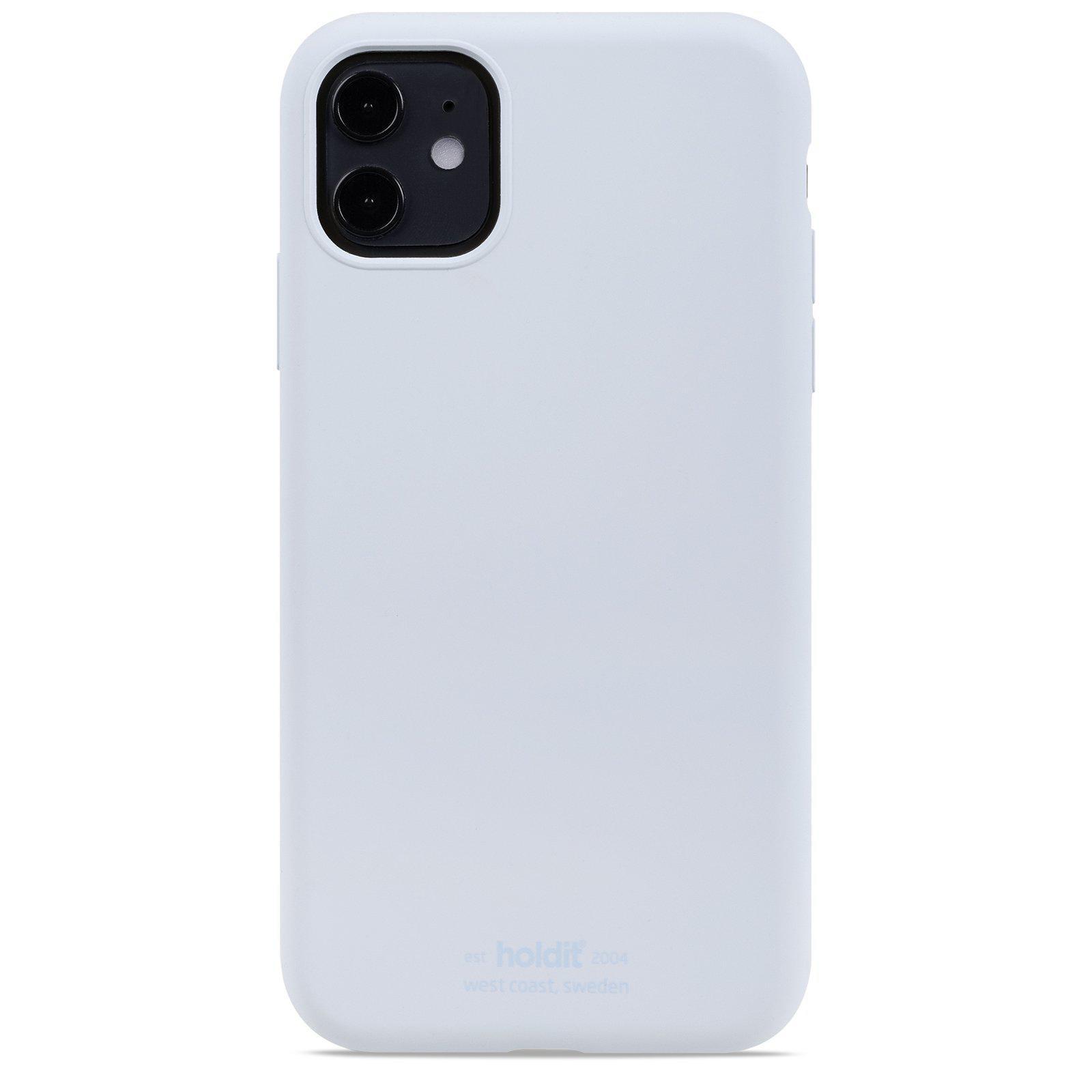 Deksel Silikon iPhone 11/XR Mineral Blue