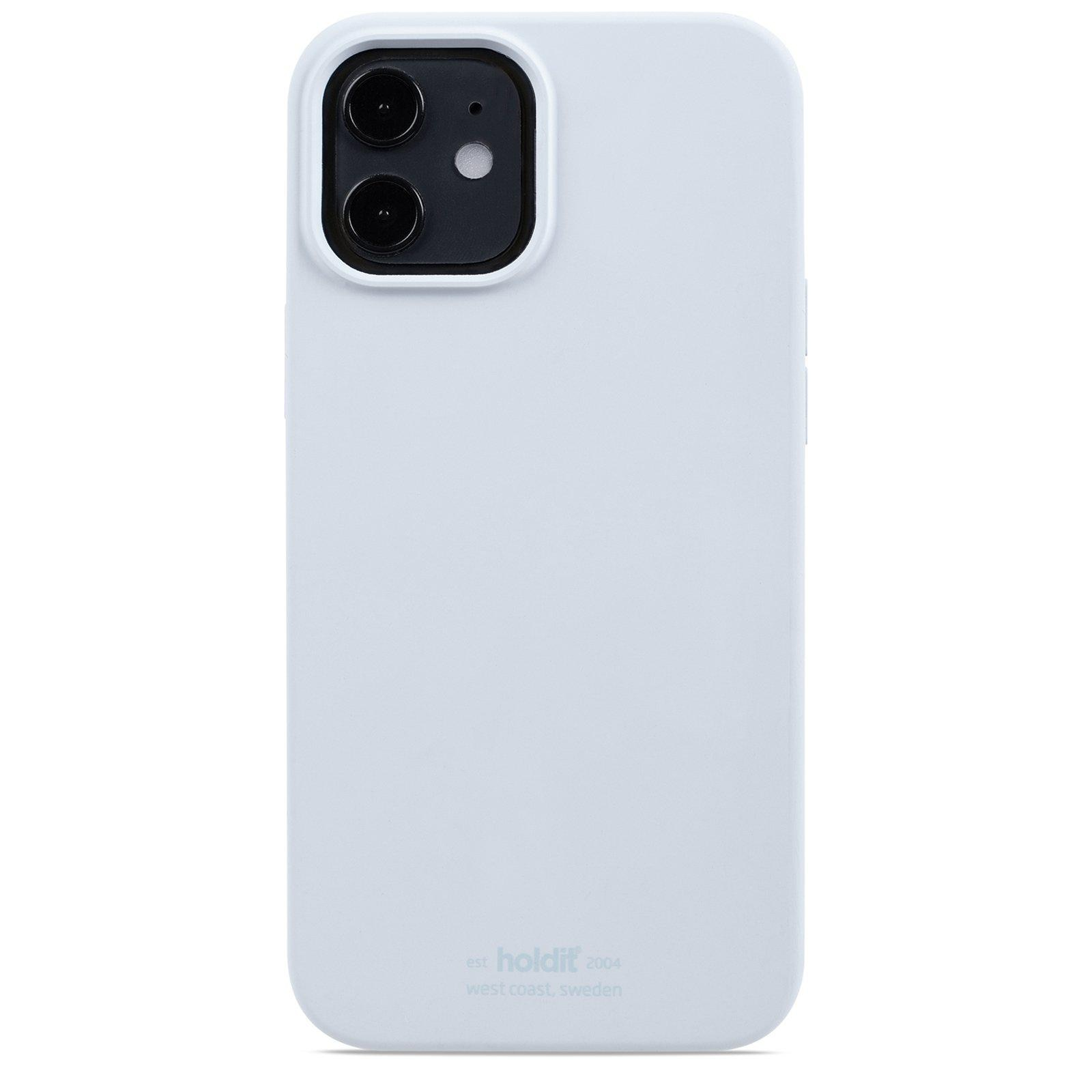 Deksel Silikon iPhone 12/12 Pro Mineral Blue