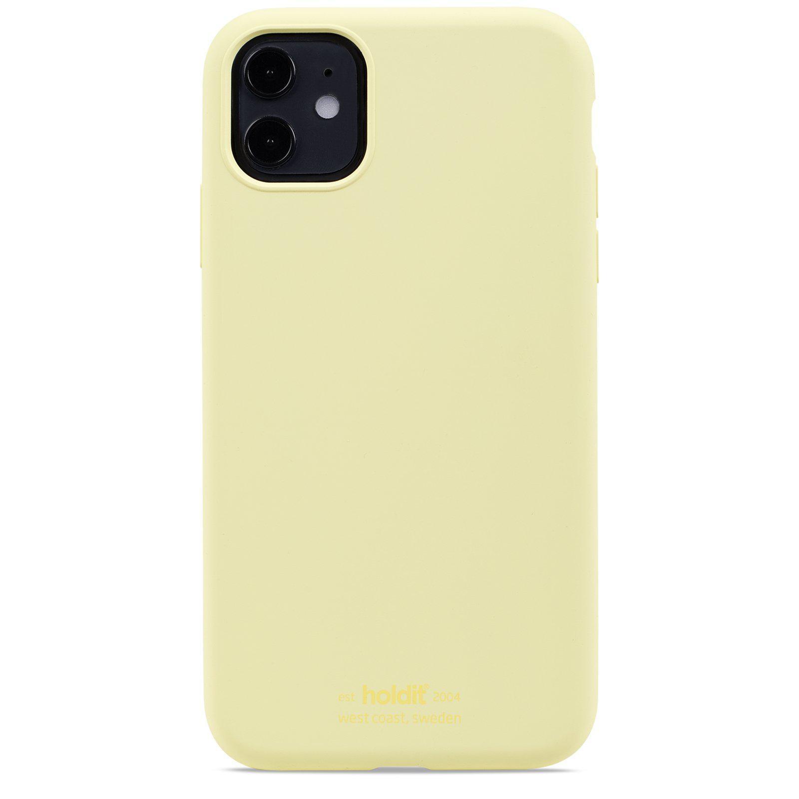 Deksel Silikon iPhone 11/XR Lemonade