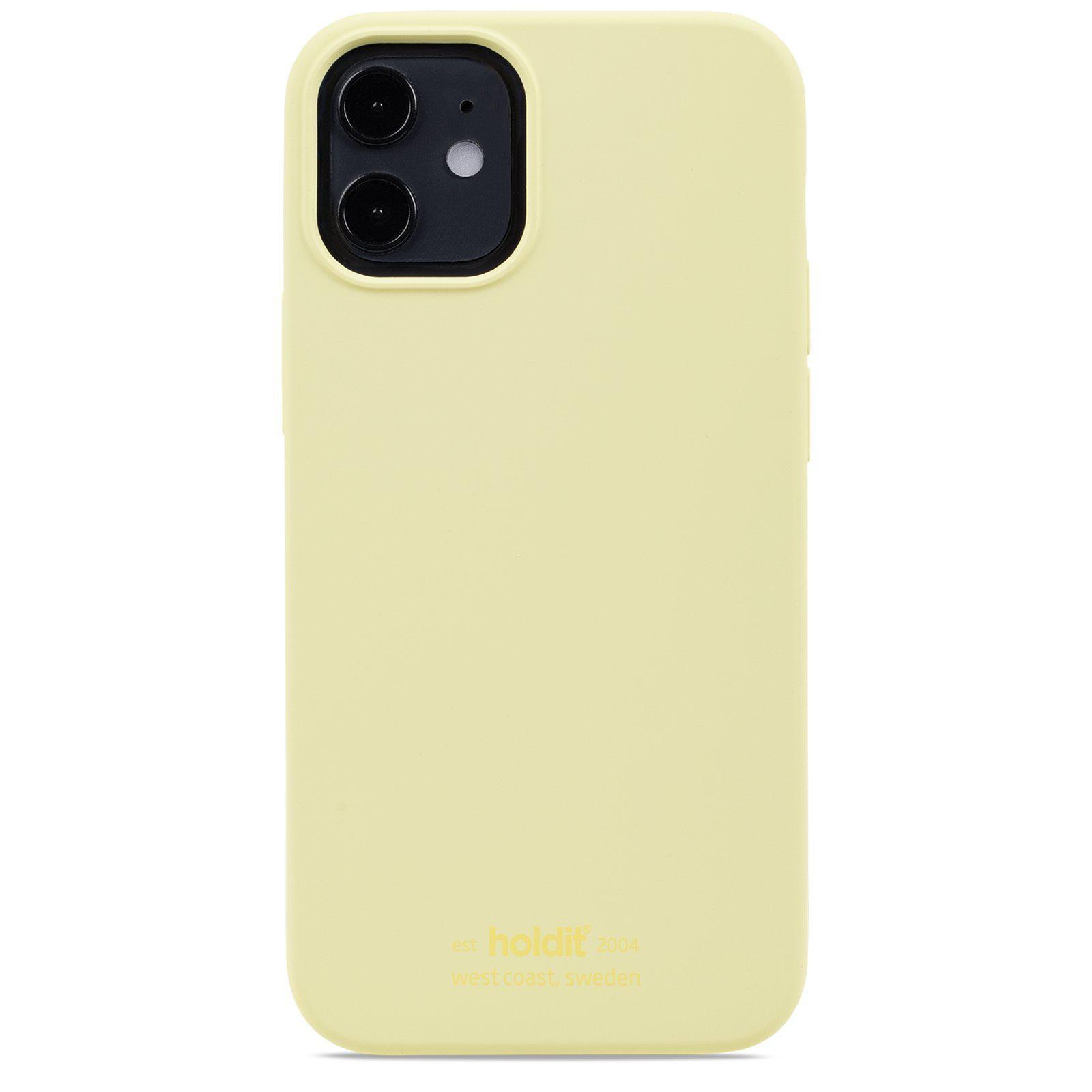 Deksel Silikon iPhone 12 Mini Lemonade